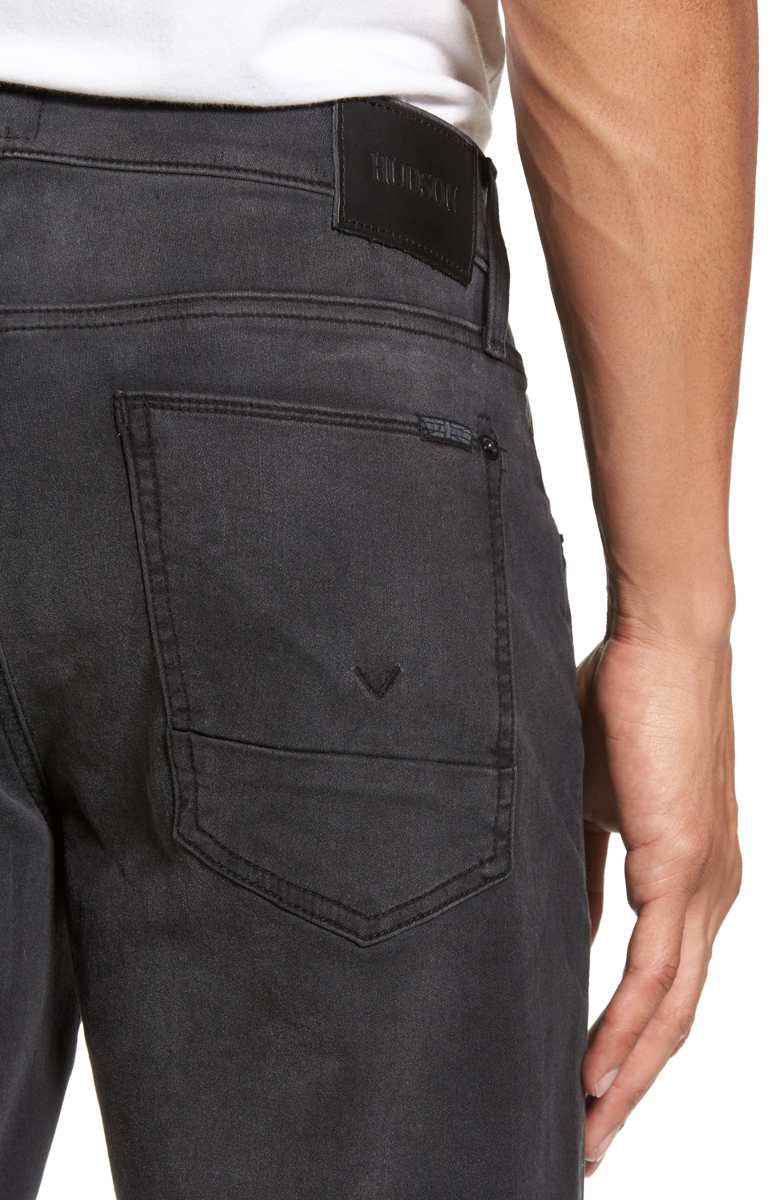 Blake Slim Fit Jeans,                             Alternate thumbnail 4, color,                             001