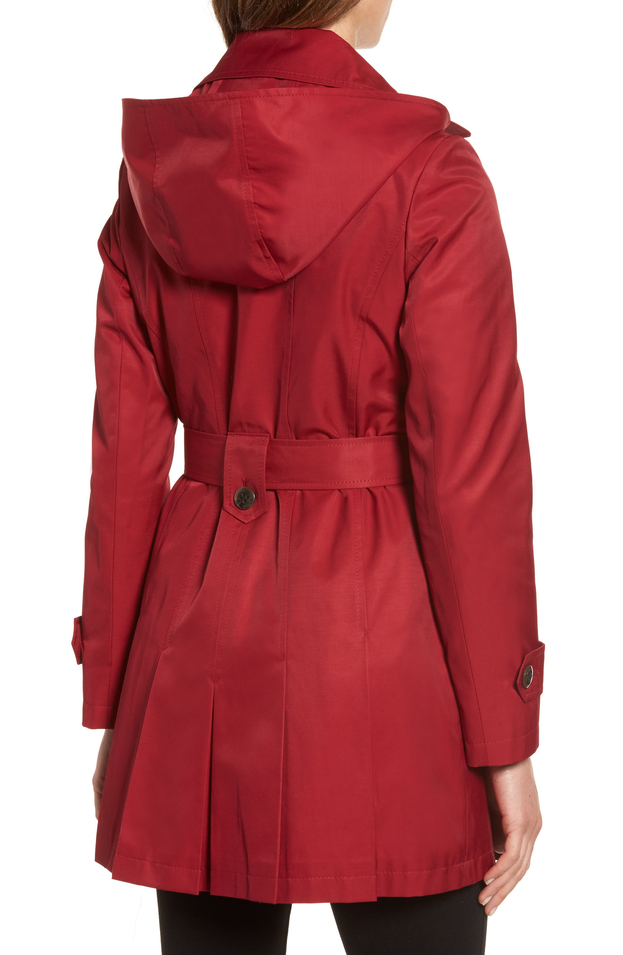 'Scarpa' Hooded Single Breasted Trench Coat,                             Alternate thumbnail 10, color,