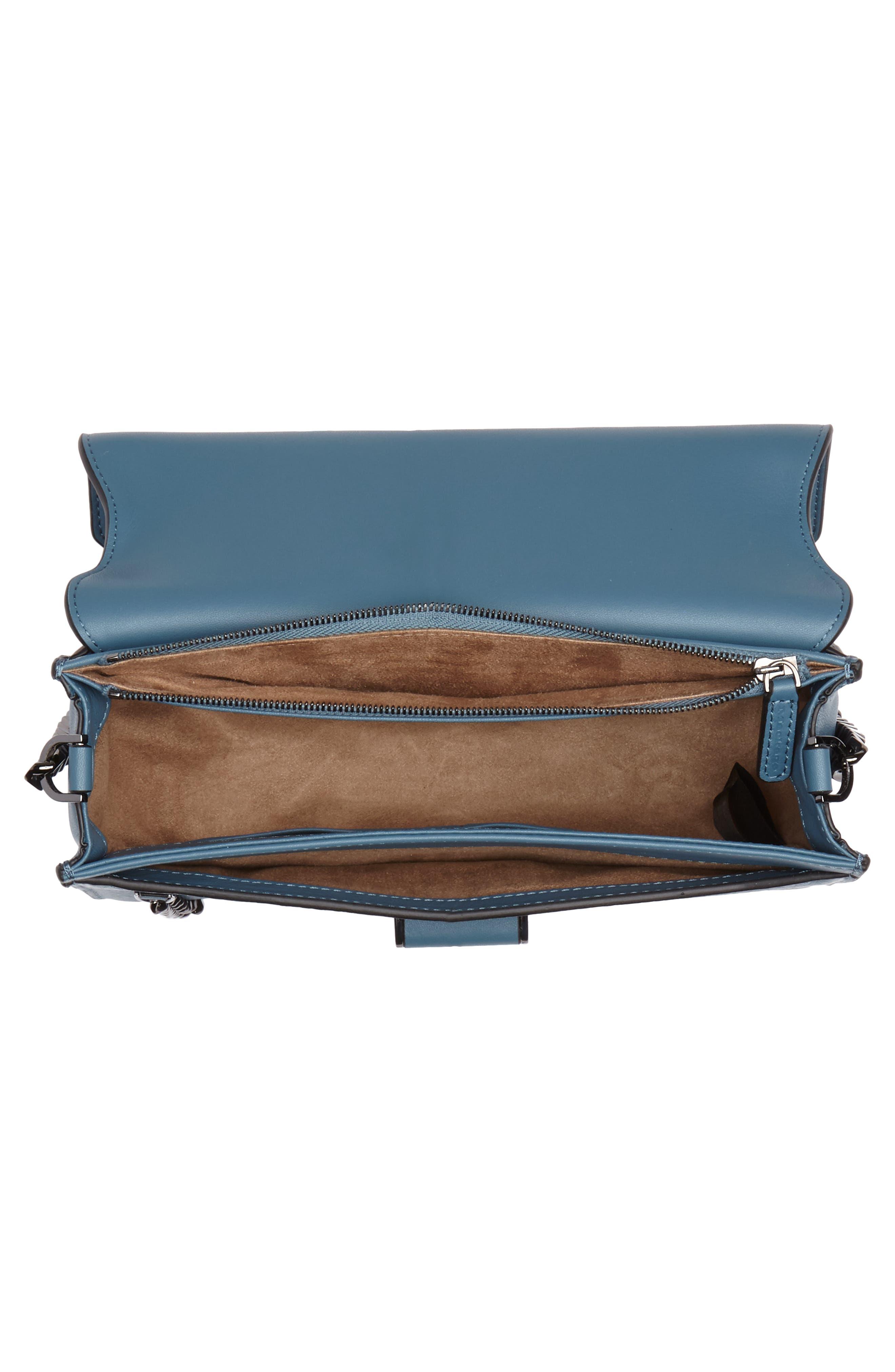 Cortney Nappa Leather Shoulder/Crossbody Bag,                             Alternate thumbnail 15, color,