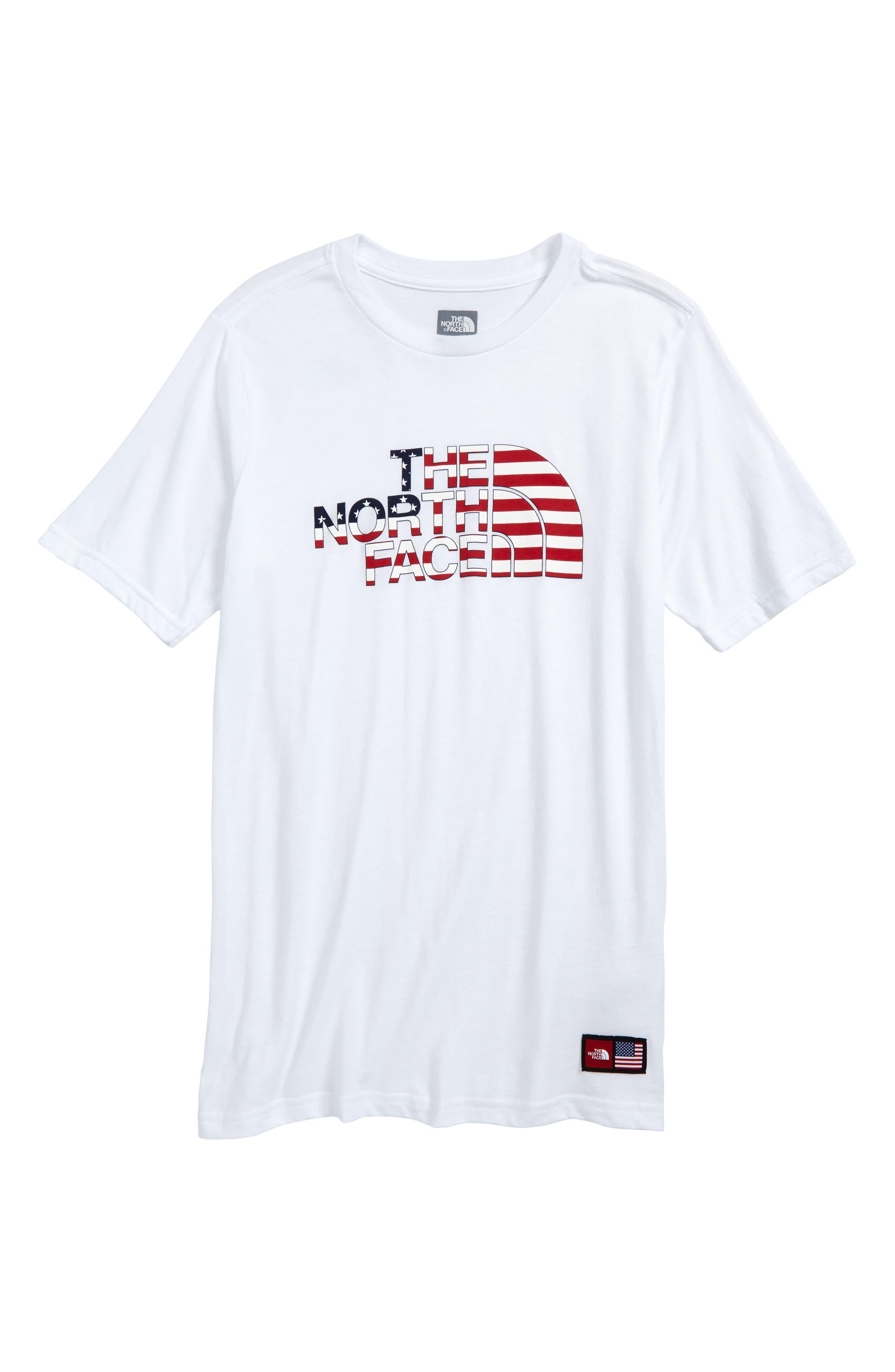 International Collection Crewneck T-Shirt,                             Main thumbnail 1, color,                             100