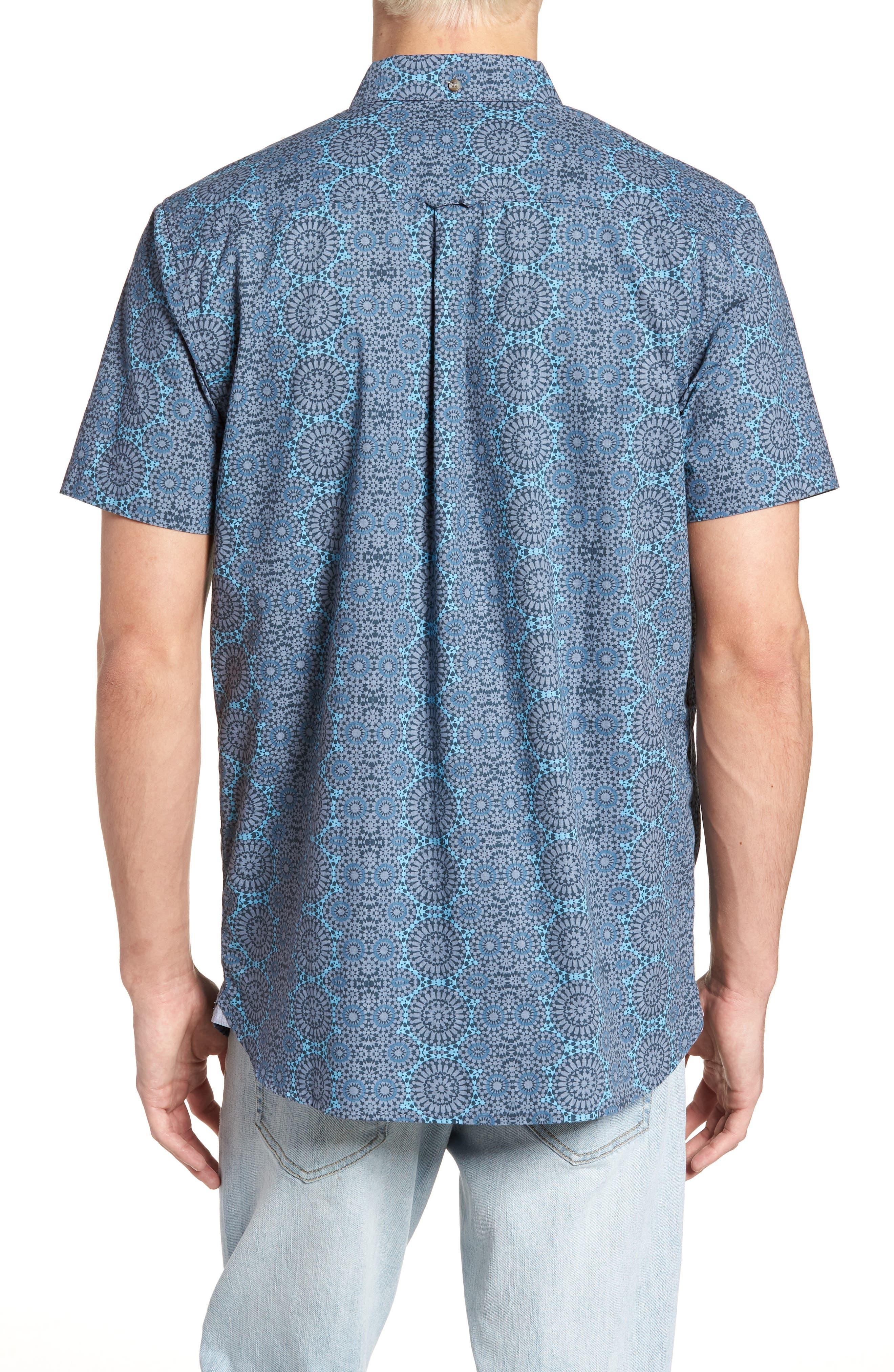 Scopic Woven Shirt,                             Alternate thumbnail 6, color,