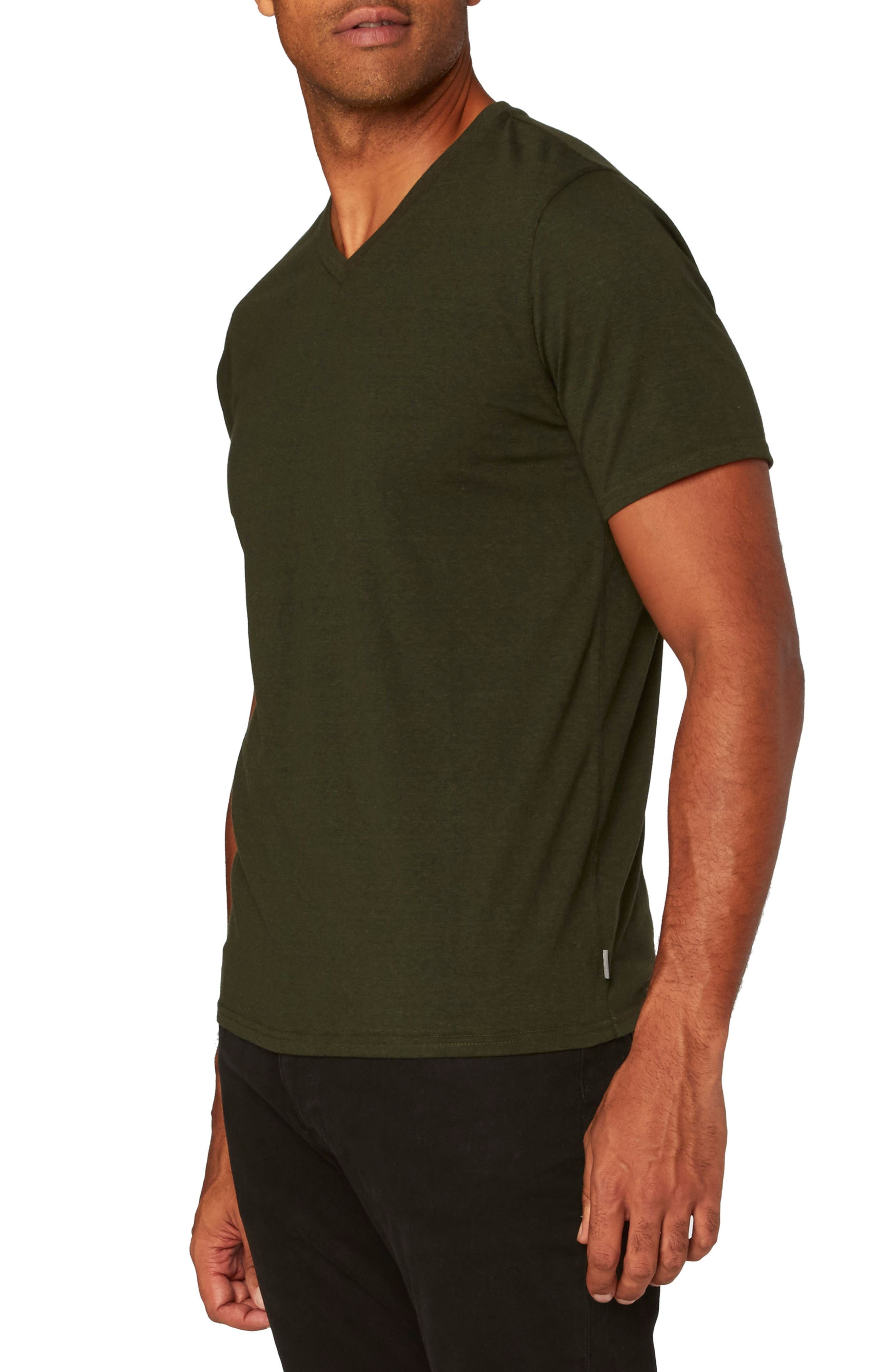 Threads for Thought Heather V-Neck,                             Alternate thumbnail 24, color,