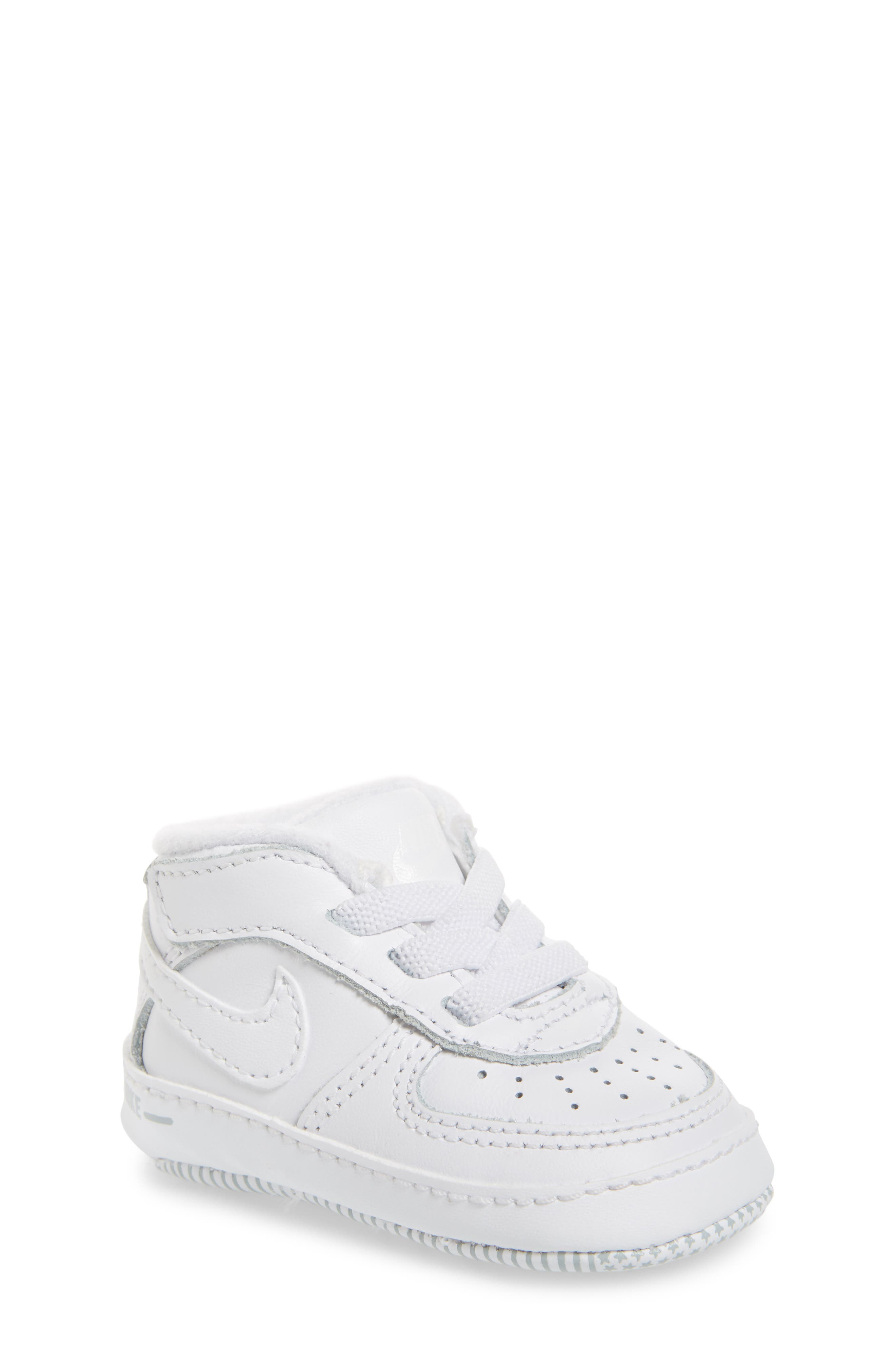NIKE,                             Air Force 1 Sneaker,                             Main thumbnail 1, color,                             WHITE/ WHITE/ WHITE
