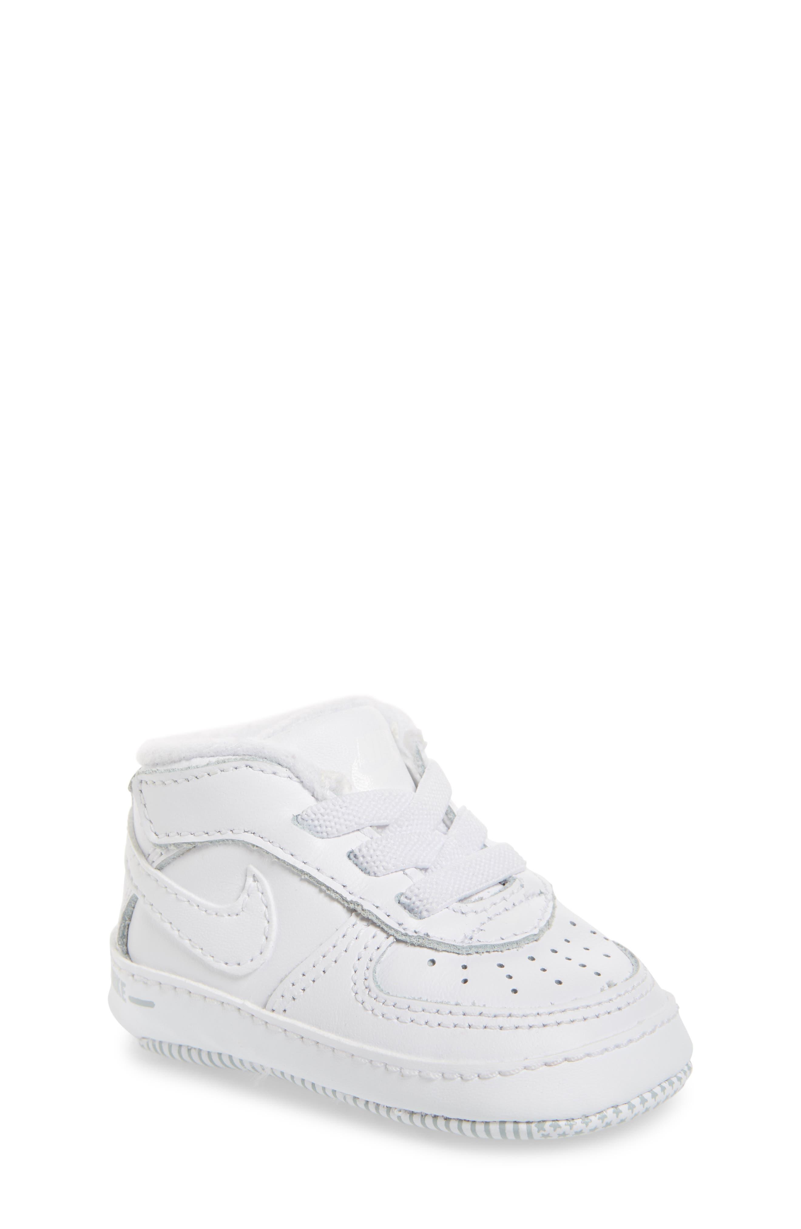 NIKE Air Force 1 Sneaker, Main, color, WHITE/ WHITE/ WHITE