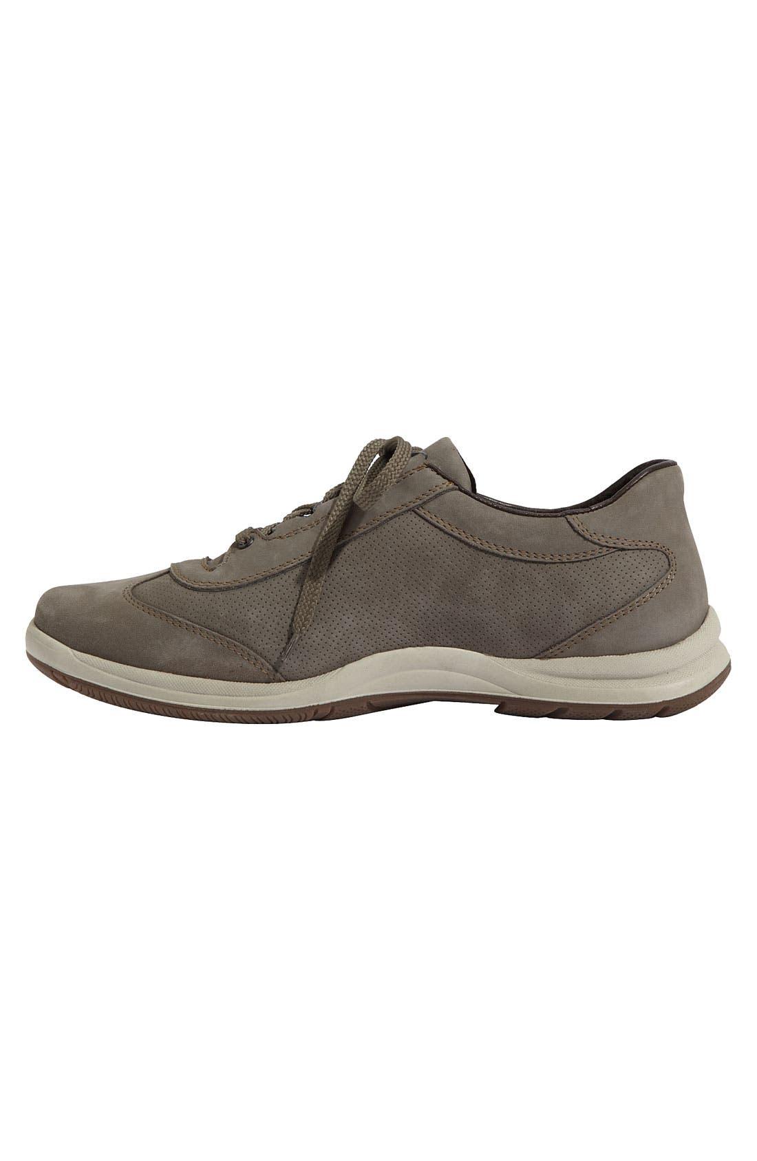 'Hike' Perforated Walking Shoe,                             Alternate thumbnail 3, color,                             020