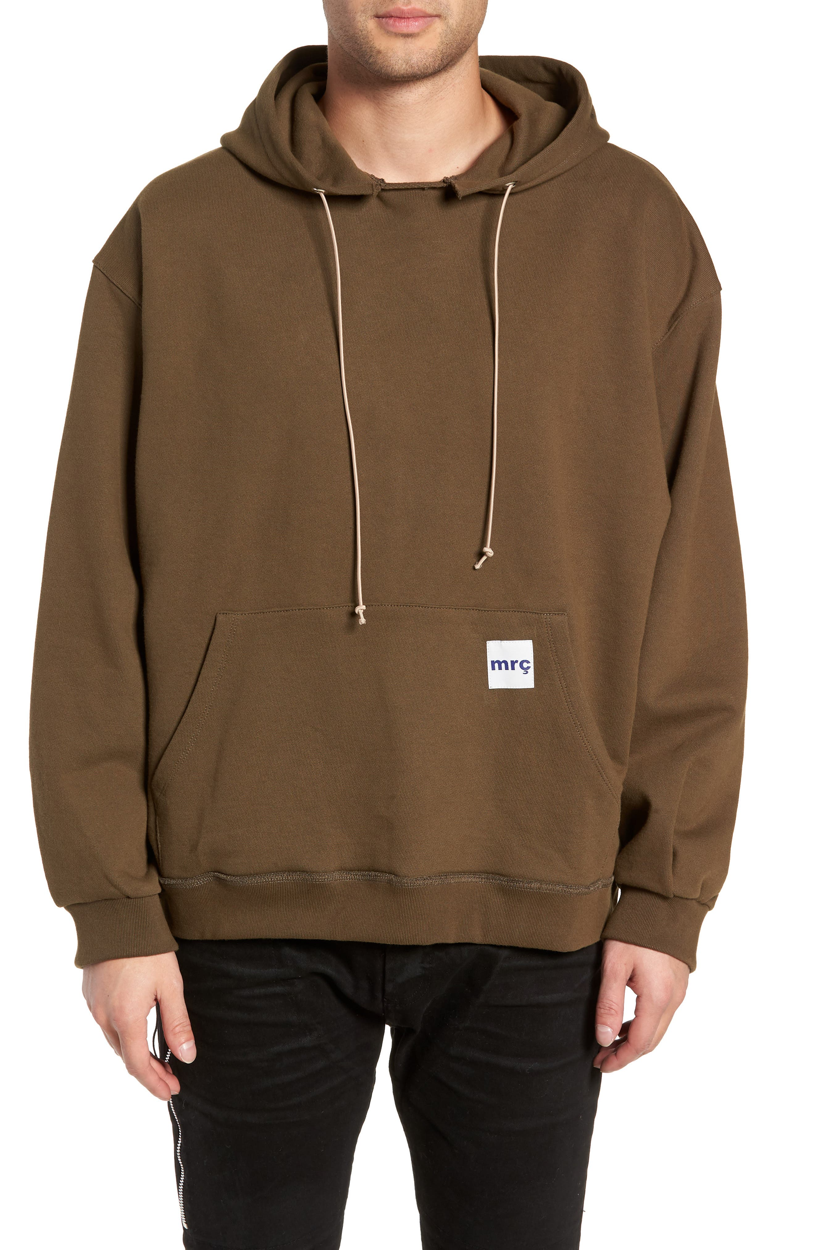 MR. COMPLETELY Factory Oversize Hoodie in Olive