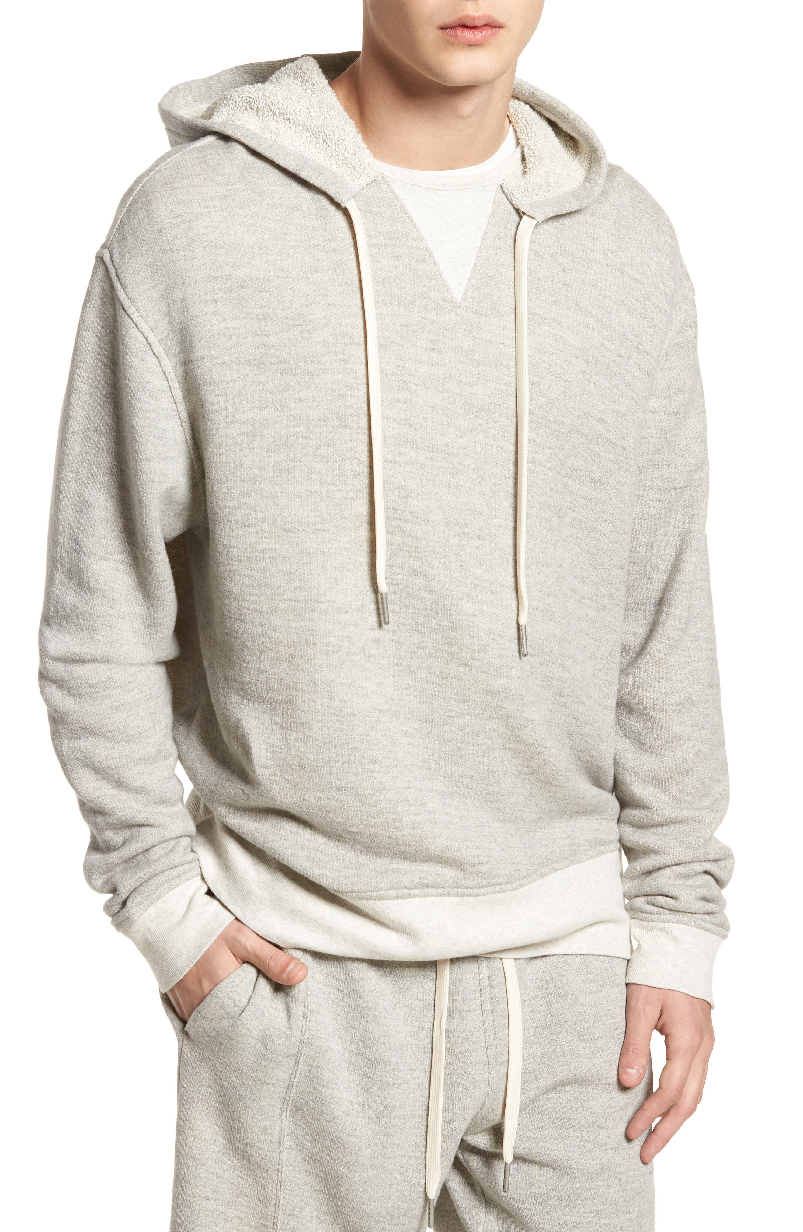 Reverse Terry Hoodie,                             Main thumbnail 1, color,
