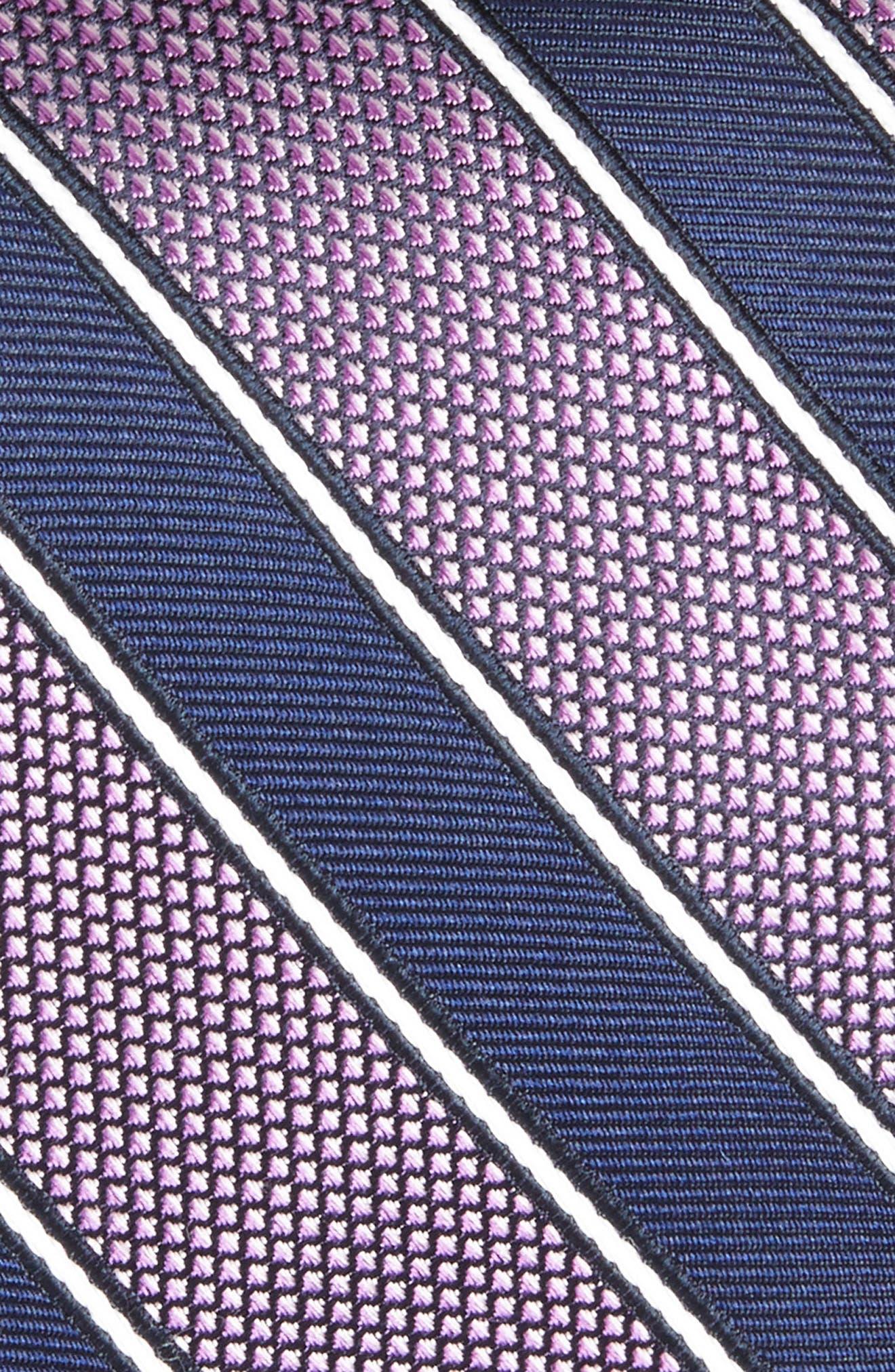 Copio Stripe Silk Tie,                             Alternate thumbnail 4, color,