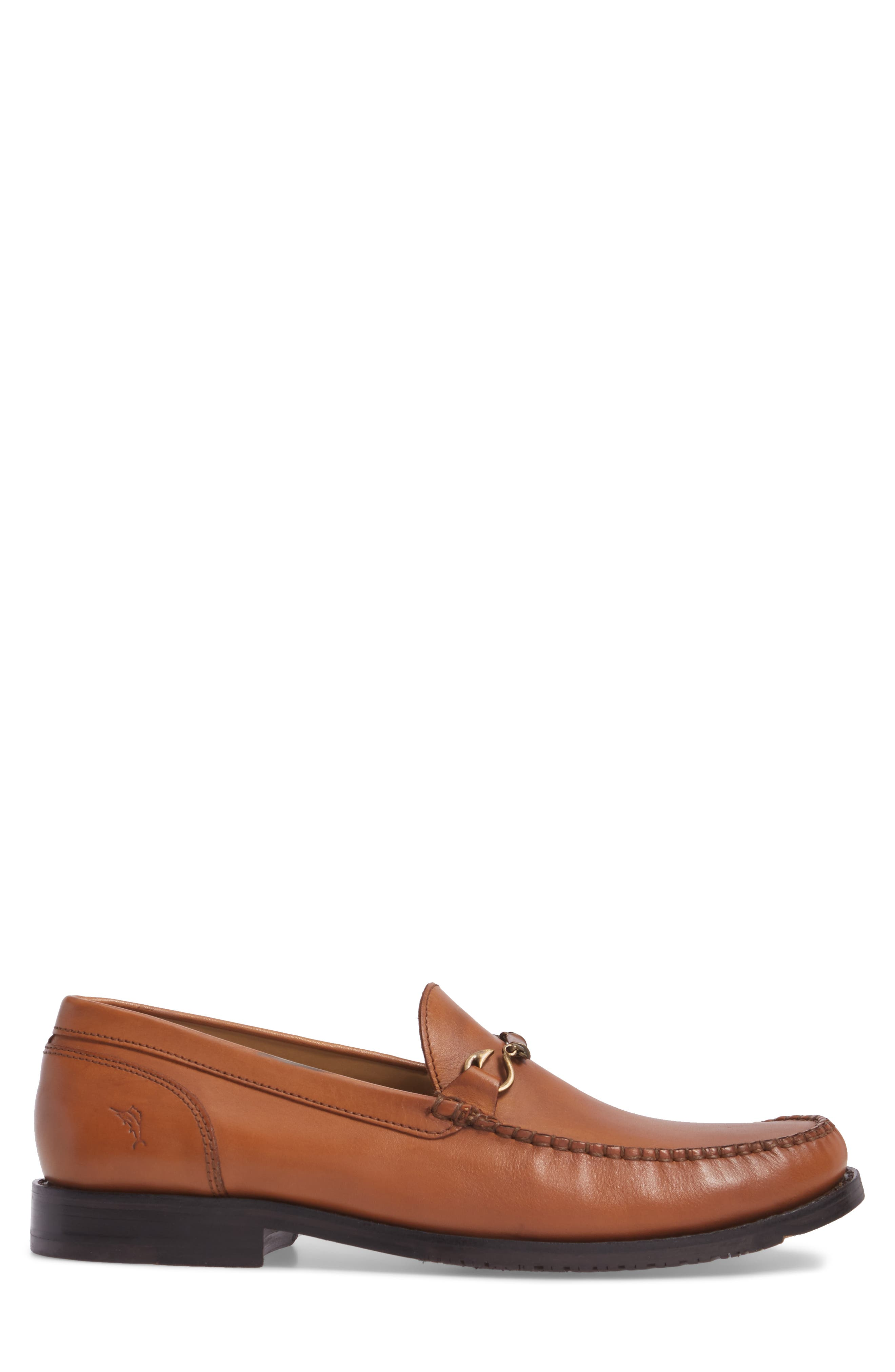 Maya Bay Bit Loafer,                             Alternate thumbnail 3, color,                             TAN LEATHER