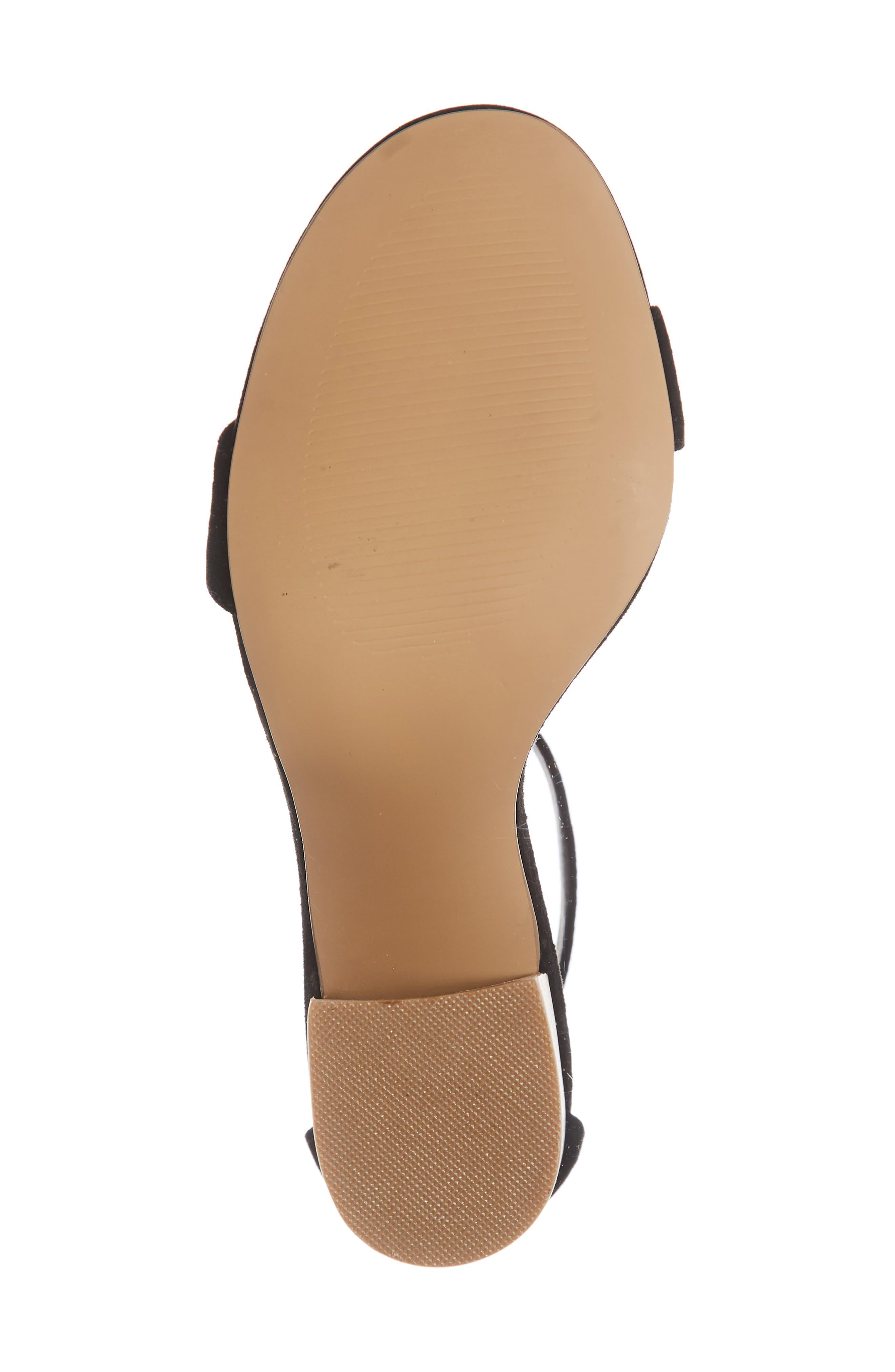 Frieda Ankle Strap Sandal,                             Alternate thumbnail 6, color,                             006