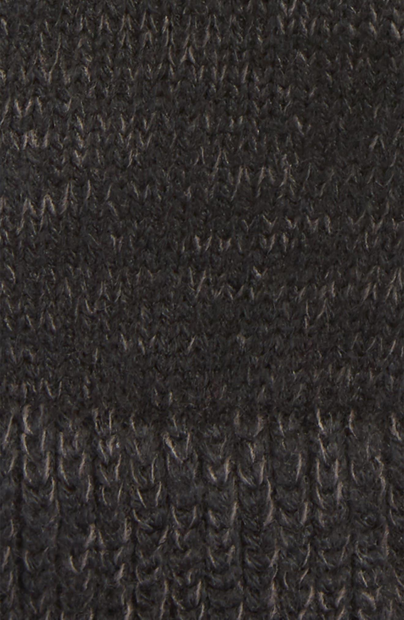 Etip Salty Dog Knit Tech Gloves,                             Alternate thumbnail 3, color,                             TNF BLACK