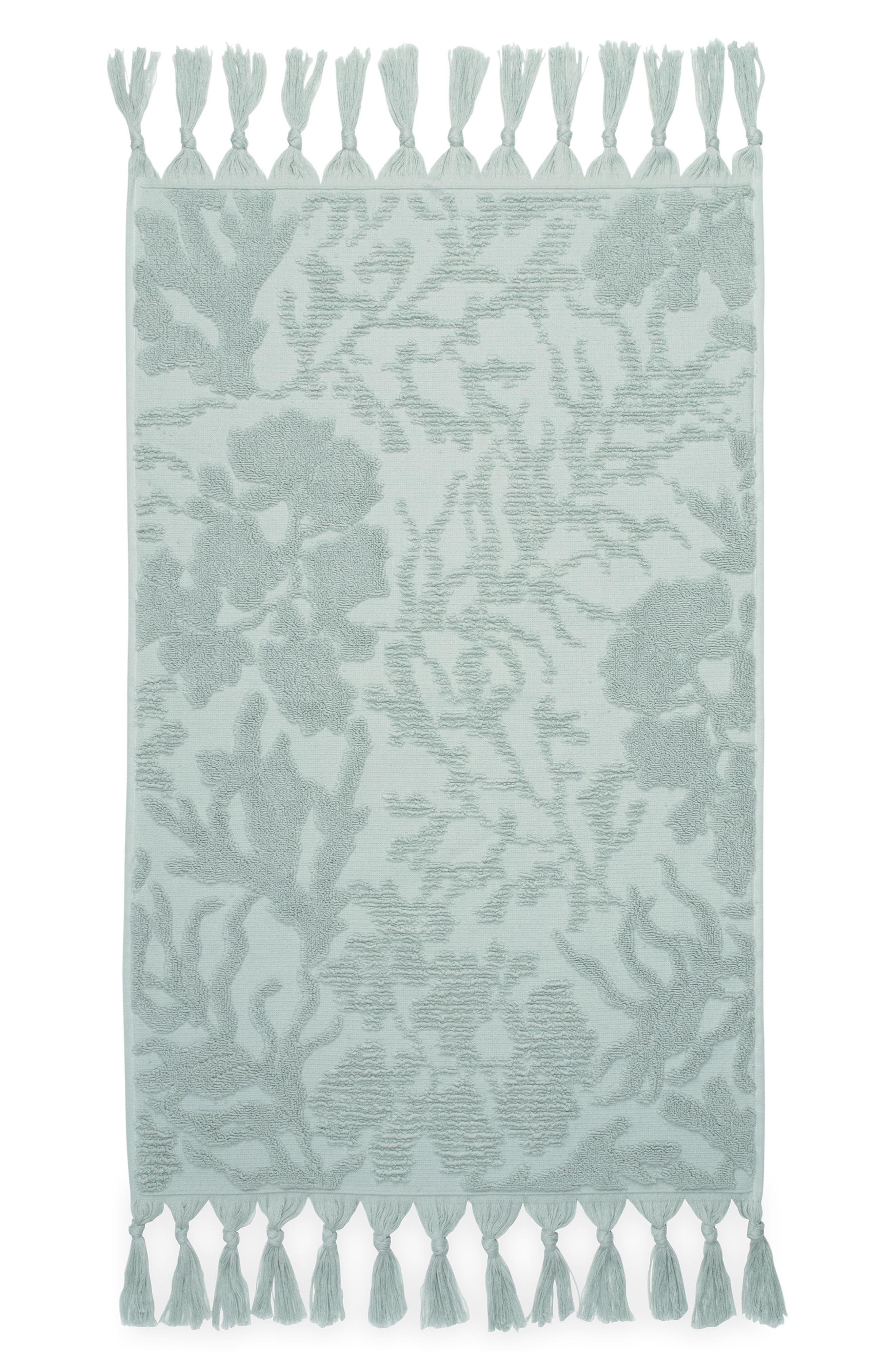 MICHAEL ARAM,                             Ocean Reef Hand Towel,                             Main thumbnail 1, color,                             SEAFOAM