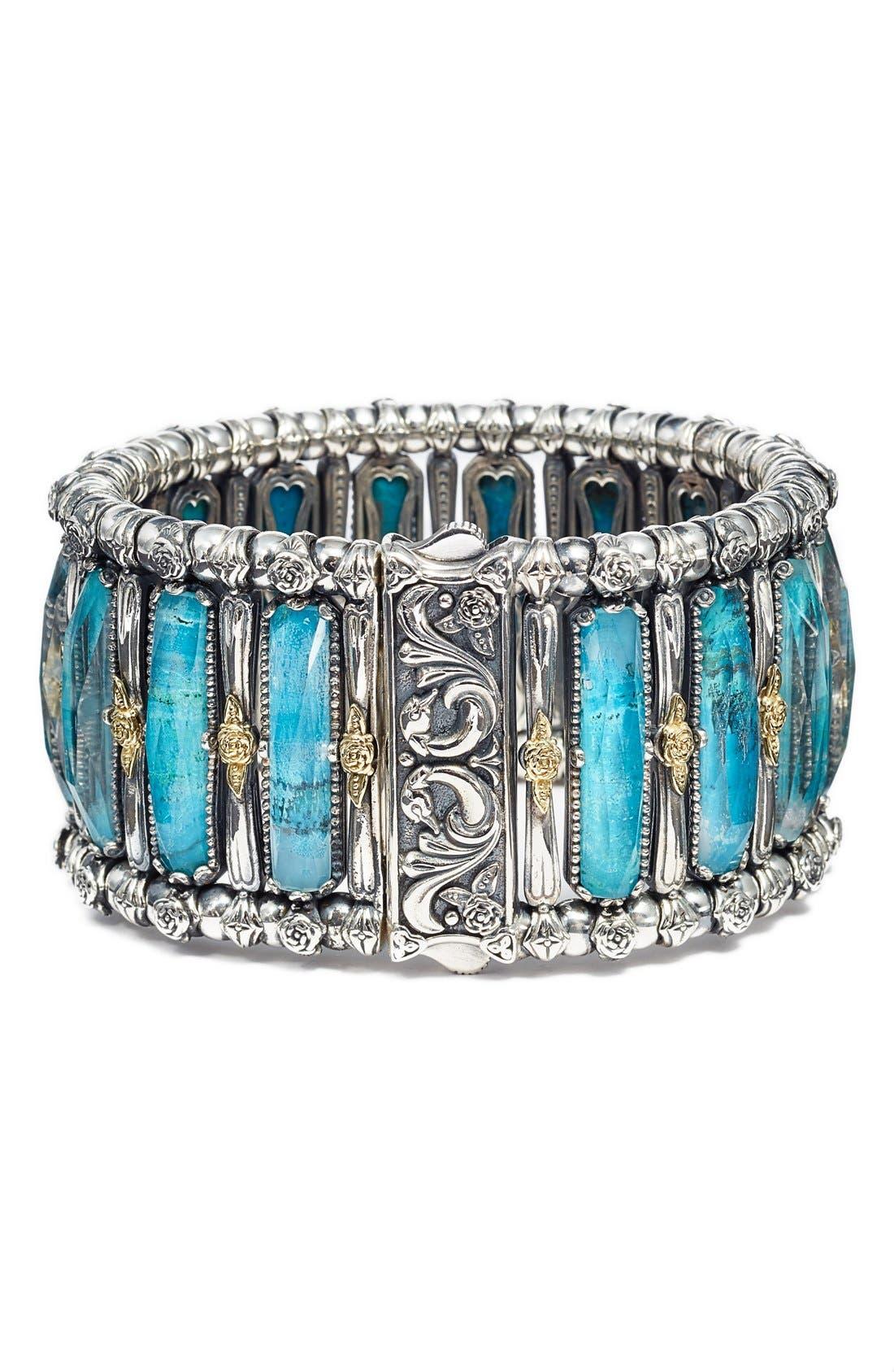 'Iliada' Stone Bracelet,                             Alternate thumbnail 2, color,                             040