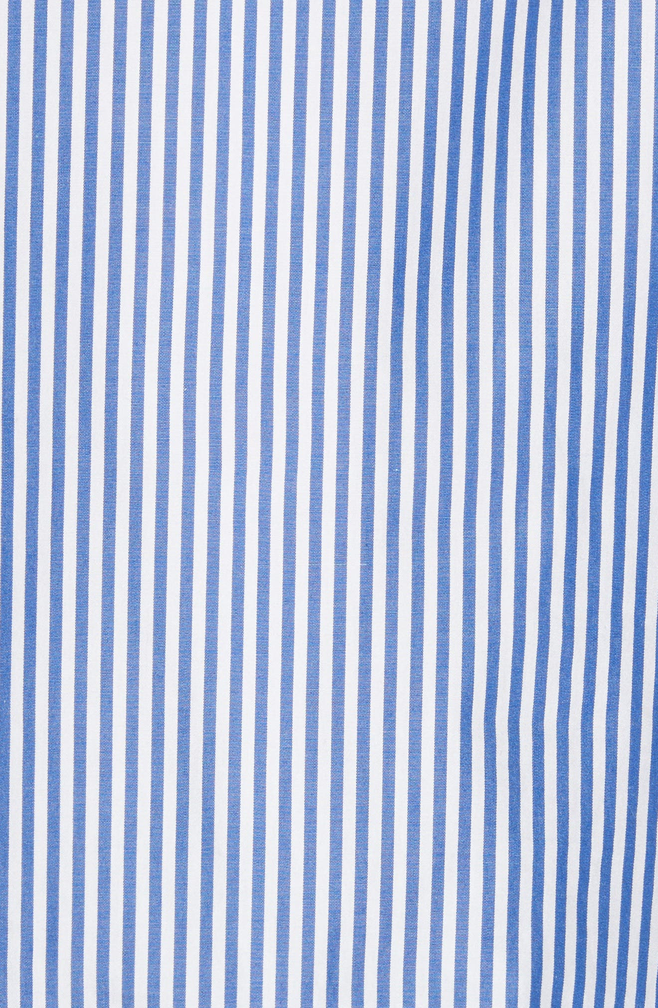 Shirting Stripe Top,                             Alternate thumbnail 5, color,