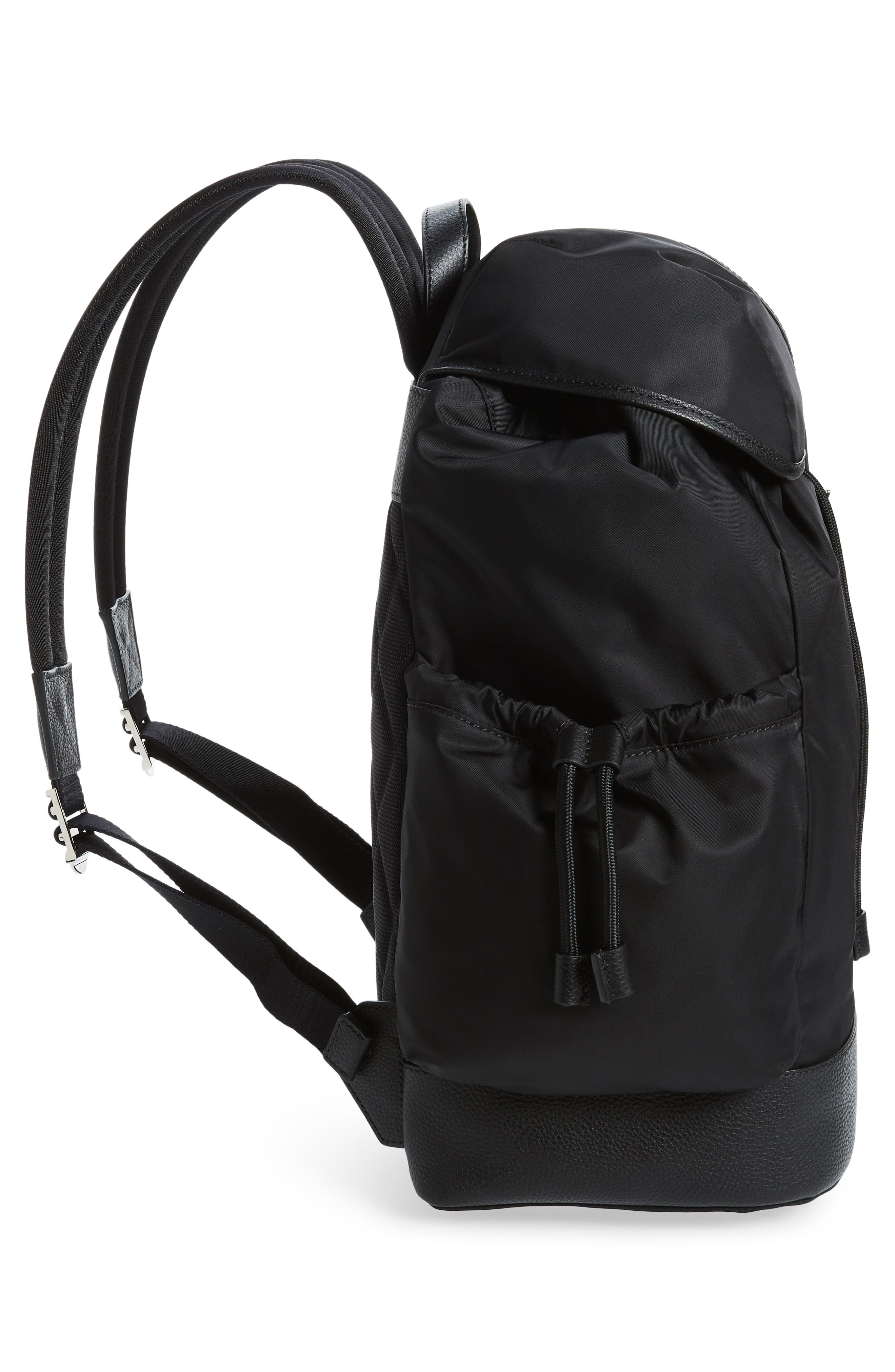 Watson Diaper Backpack,                             Alternate thumbnail 5, color,                             BLACK