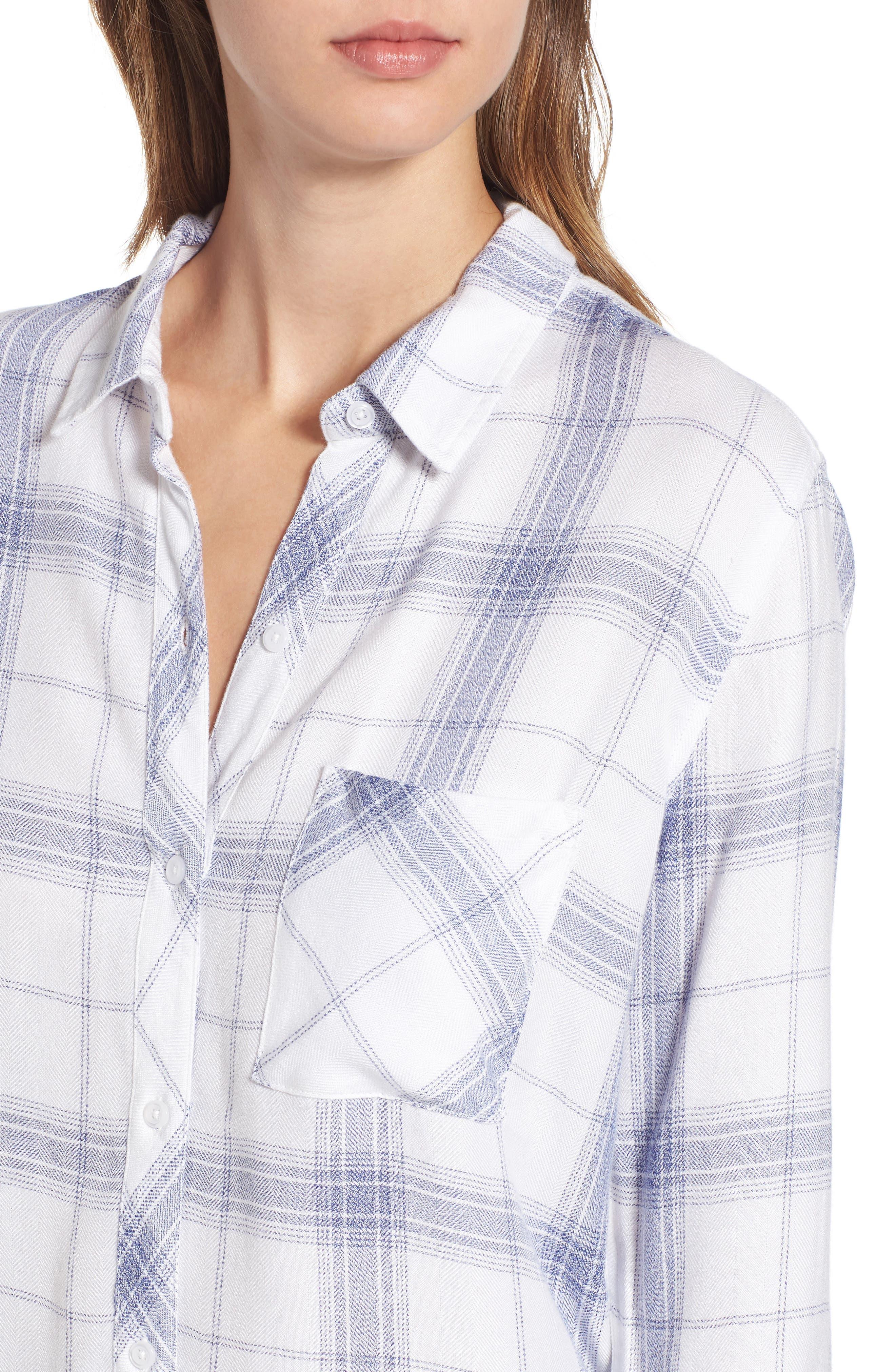 Hunter Plaid Shirt,                             Alternate thumbnail 412, color,