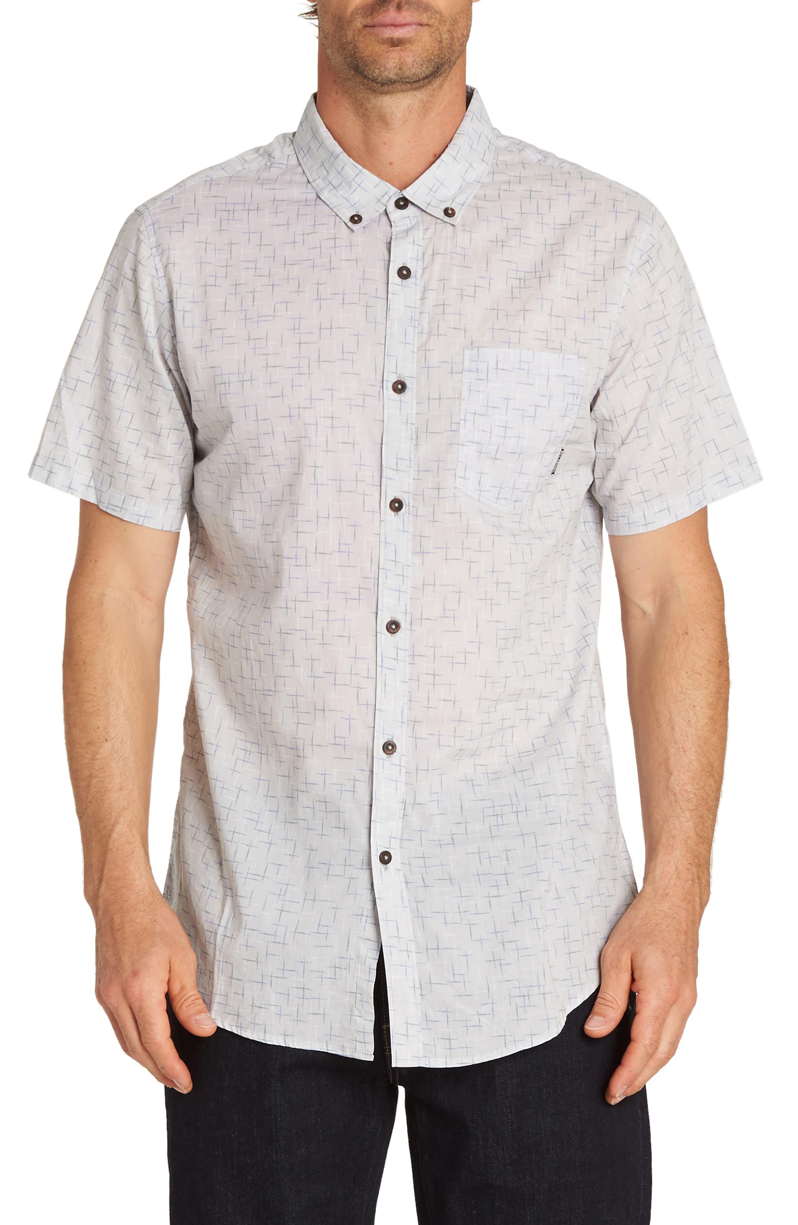 Sundays Mini Woven Shirt,                             Main thumbnail 1, color,                             BONE