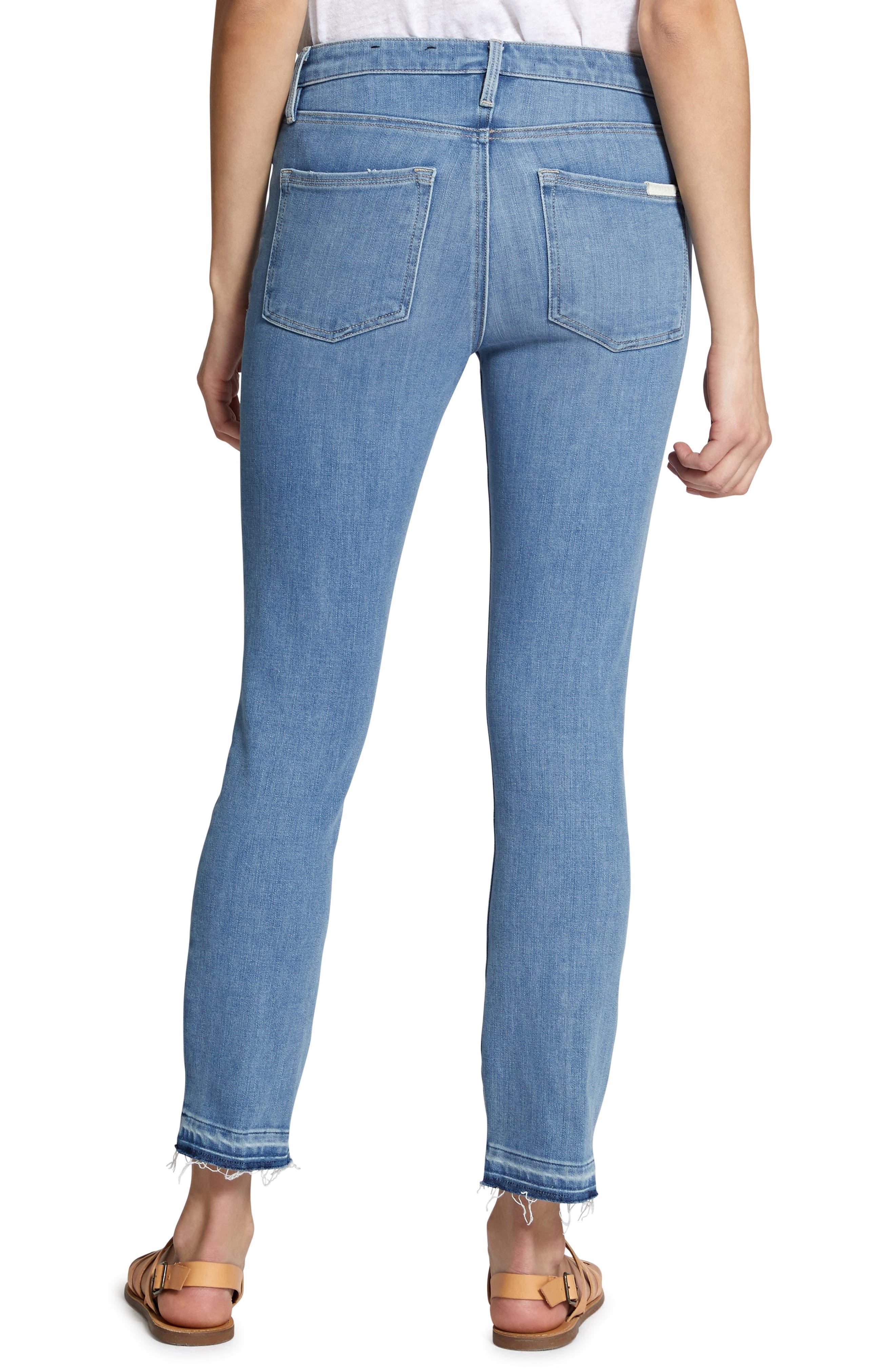 Robbie Spring Slit Jeans,                             Alternate thumbnail 2, color,                             421