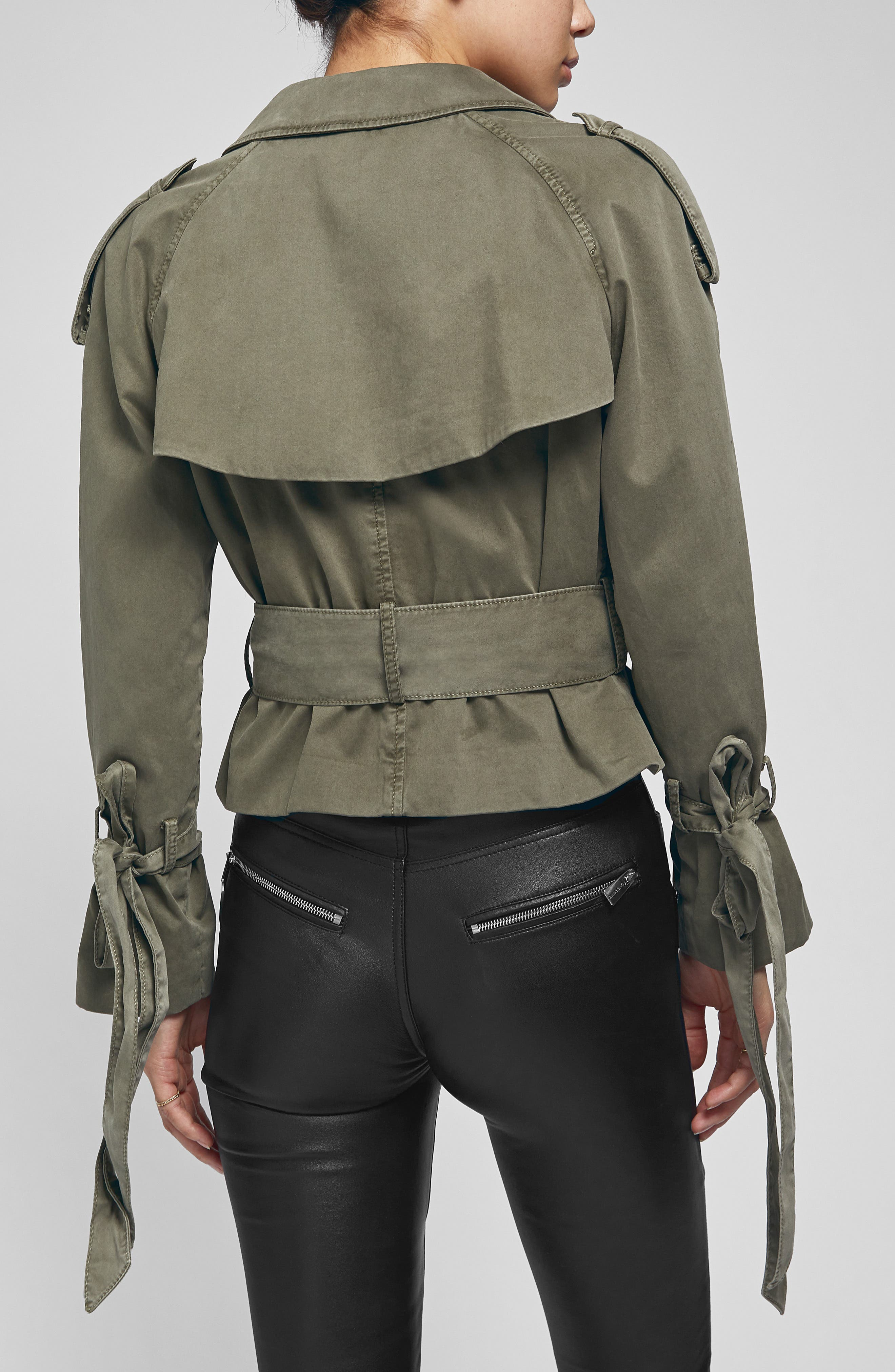 ANINE BING,                             Aria Trench Jacket,                             Alternate thumbnail 2, color,                             300