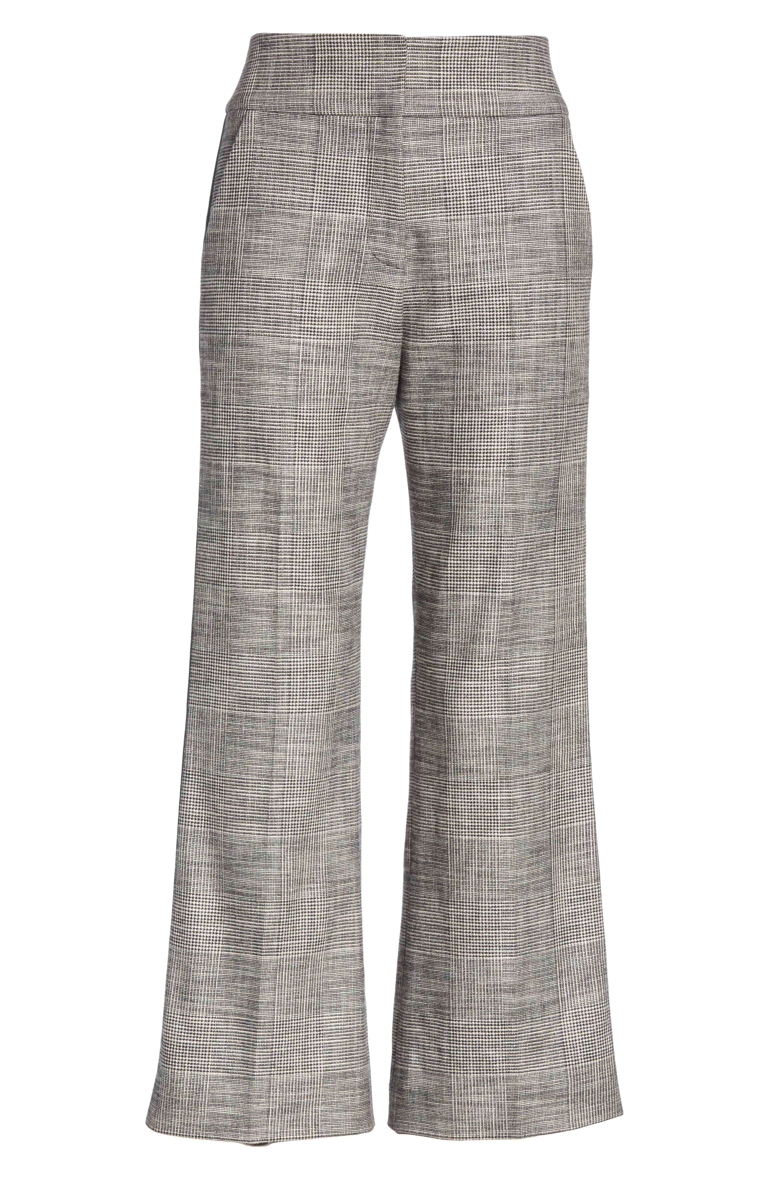 Cormac Side Stripe Check Trousers,                             Alternate thumbnail 6, color,                             020
