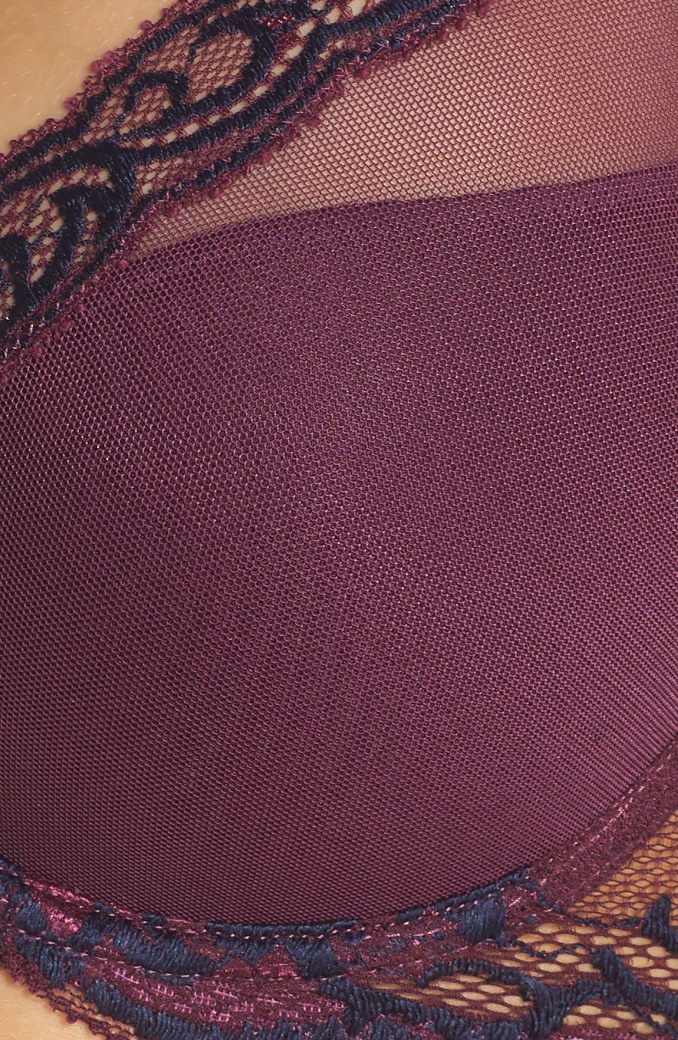 Feathers Underwire Contour Bra,                             Alternate thumbnail 462, color,