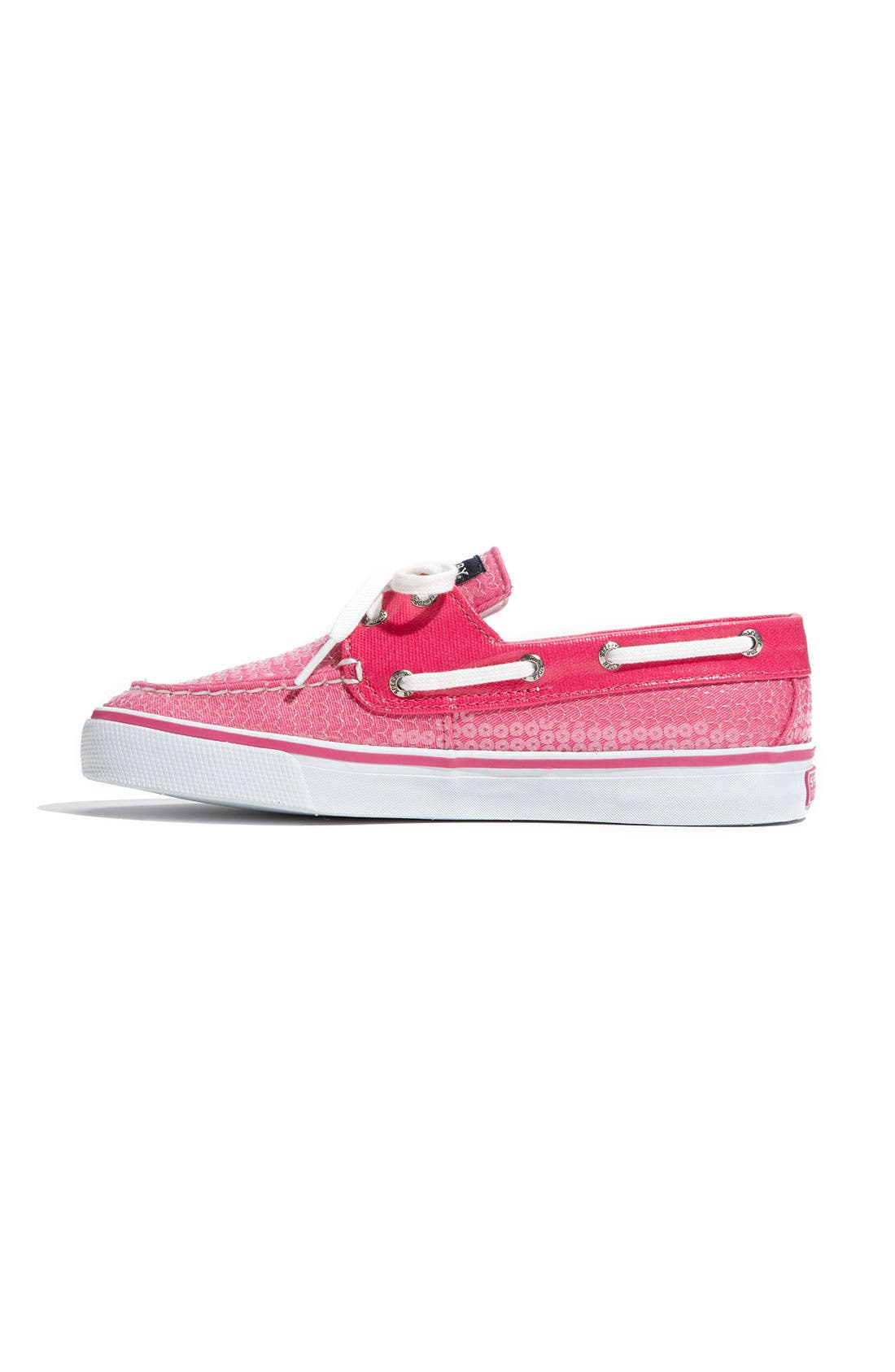 Top-Sider<sup>®</sup> 'Bahama' Sequined Boat Shoe,                             Alternate thumbnail 118, color,