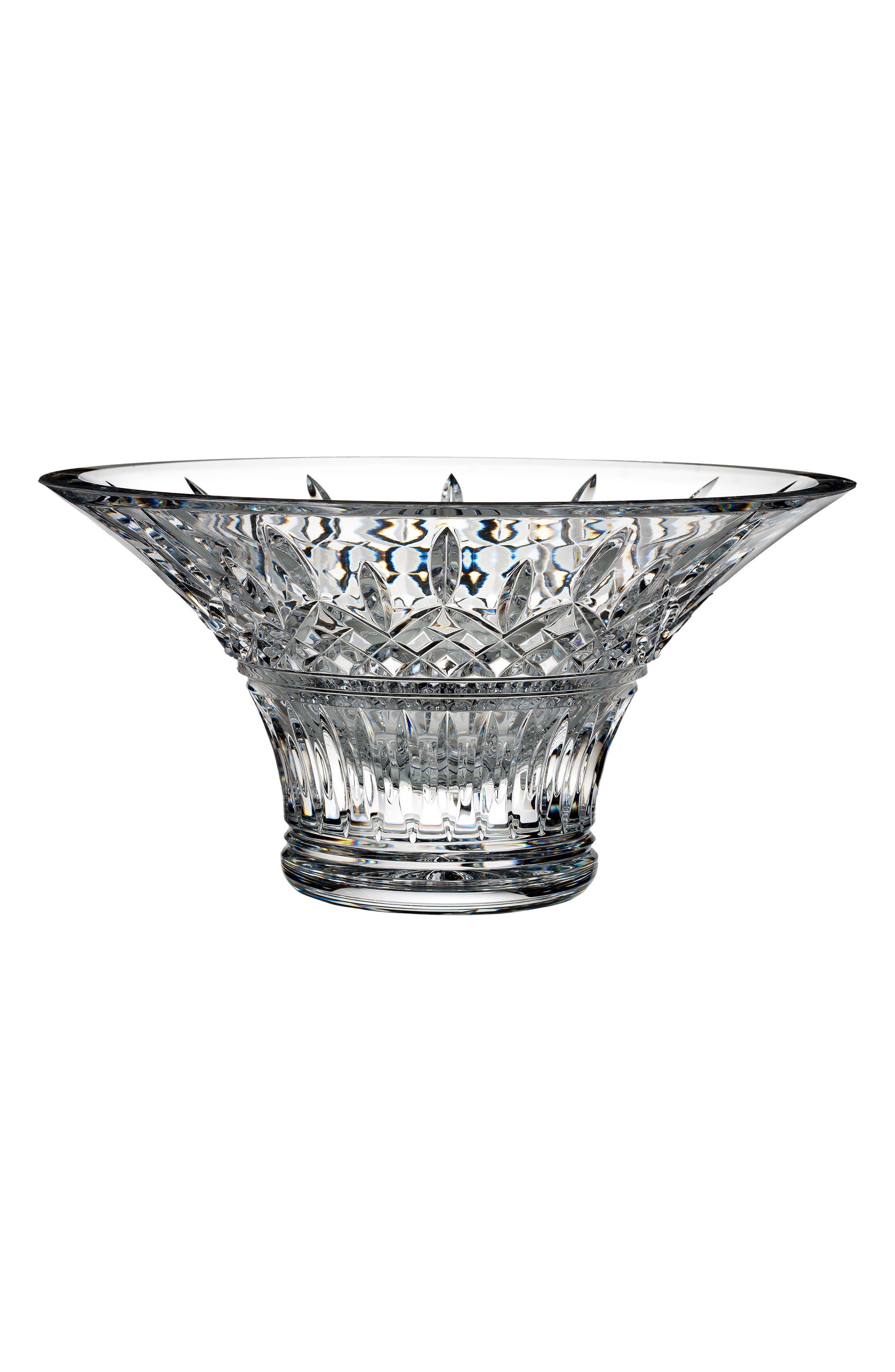 Lismore Lead Crystal Bowl,                             Main thumbnail 1, color,                             100