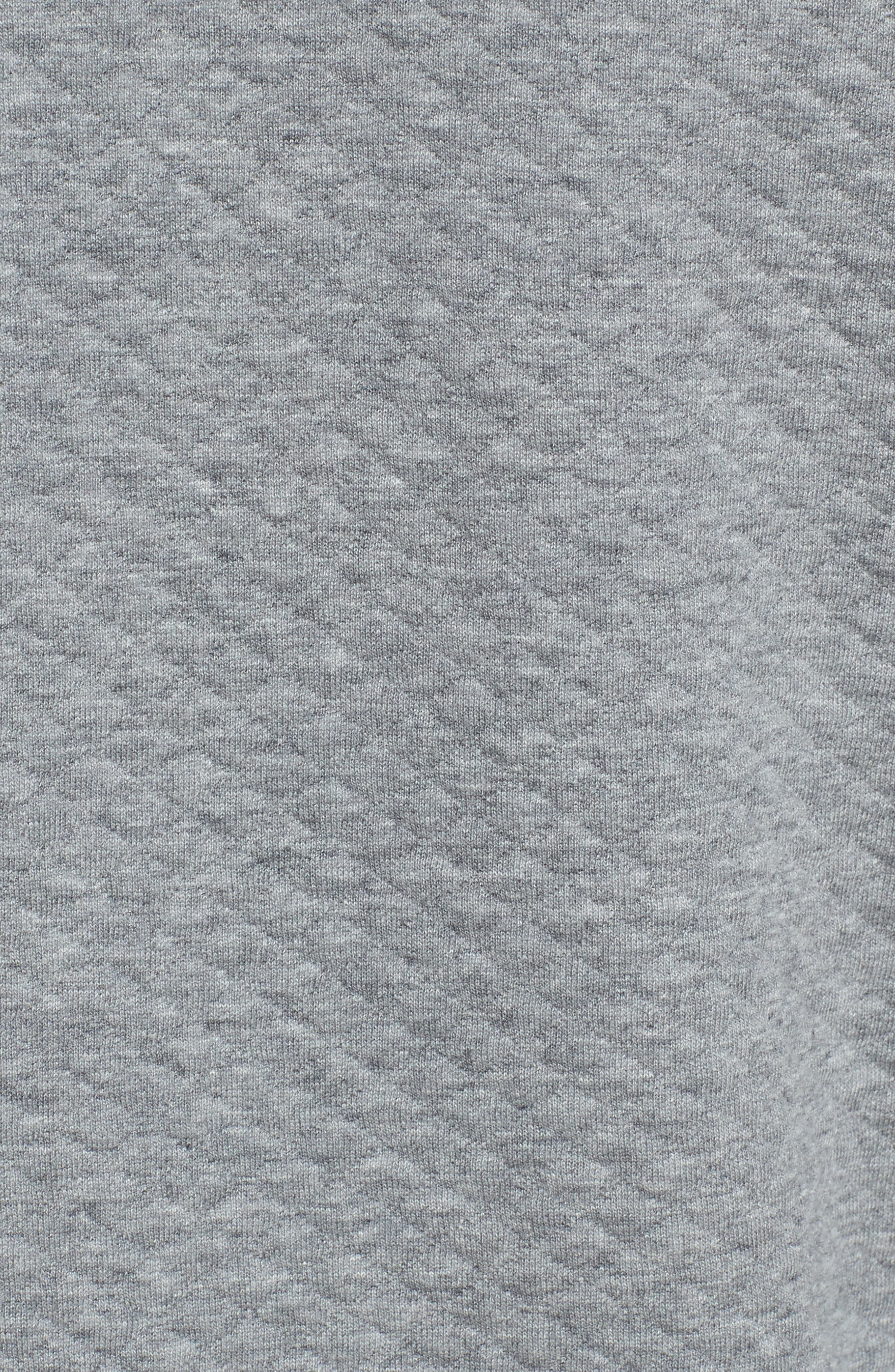Sundown Quilted Quarter Zip Pullover,                             Alternate thumbnail 5, color,                             024