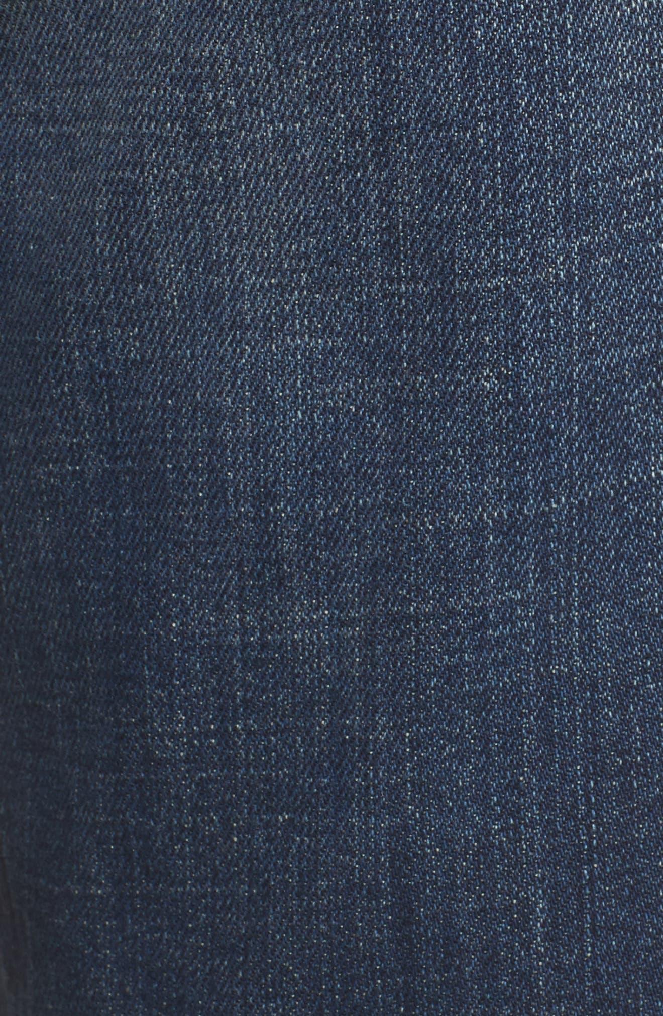 Organic Cotton Boyfriend Jeans,                             Alternate thumbnail 6, color,                             400