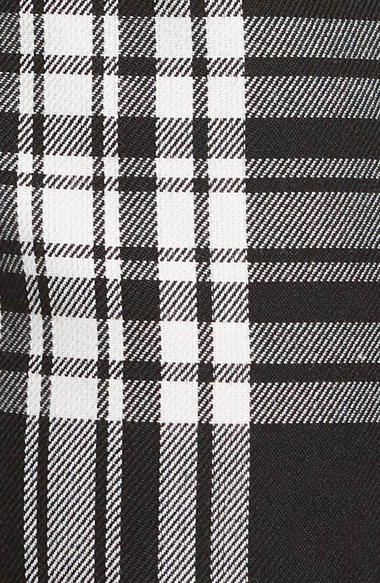 Plaid Jogger Pants,                             Alternate thumbnail 5, color,                             001