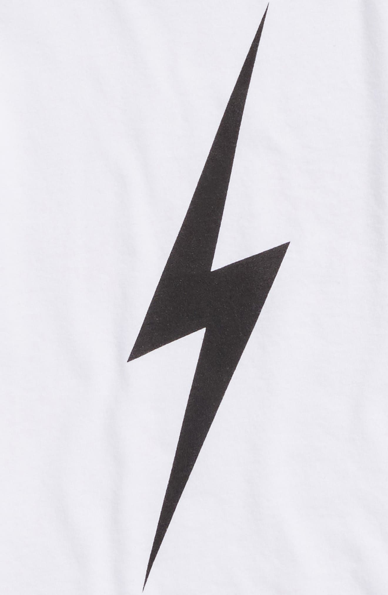 Bolt Graphic Tee,                             Alternate thumbnail 2, color,                             100