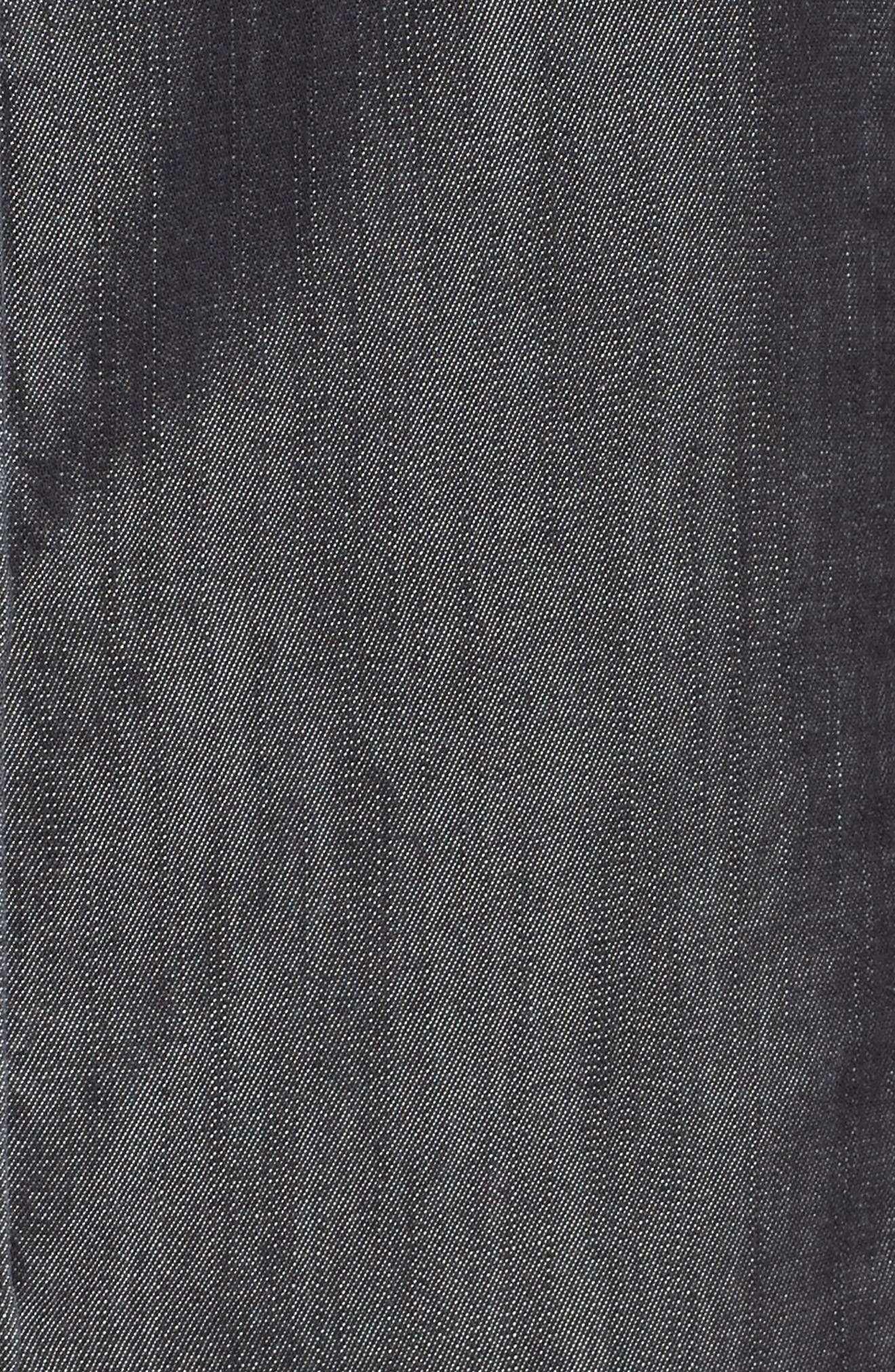 Dylan Woven Tencel<sup>®</sup> Shirt,                             Alternate thumbnail 5, color,                             CHARCOAL