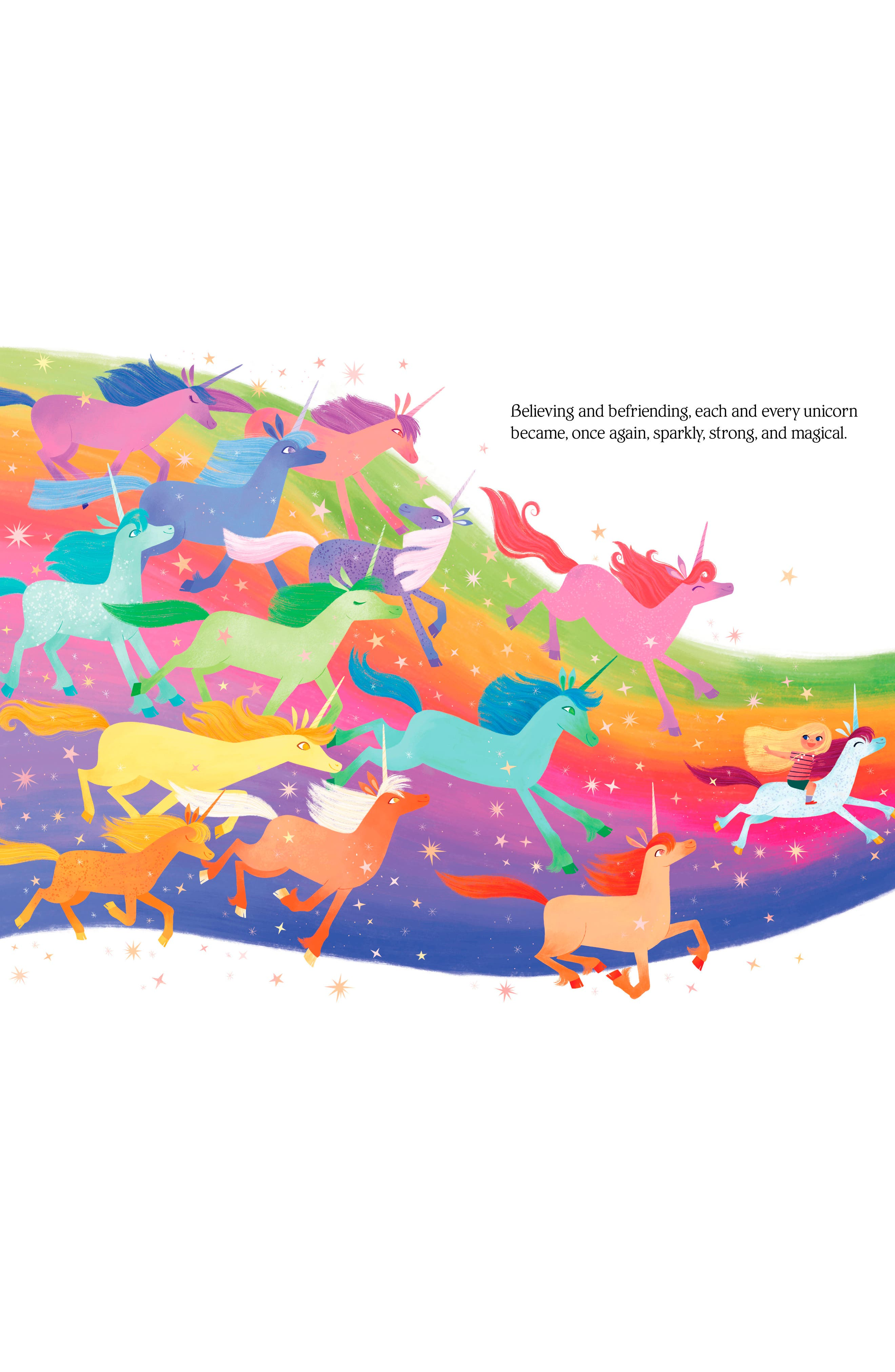 'Uni the Unicorn & the Dream Come True' Board Book,                             Alternate thumbnail 2, color,                             PINK