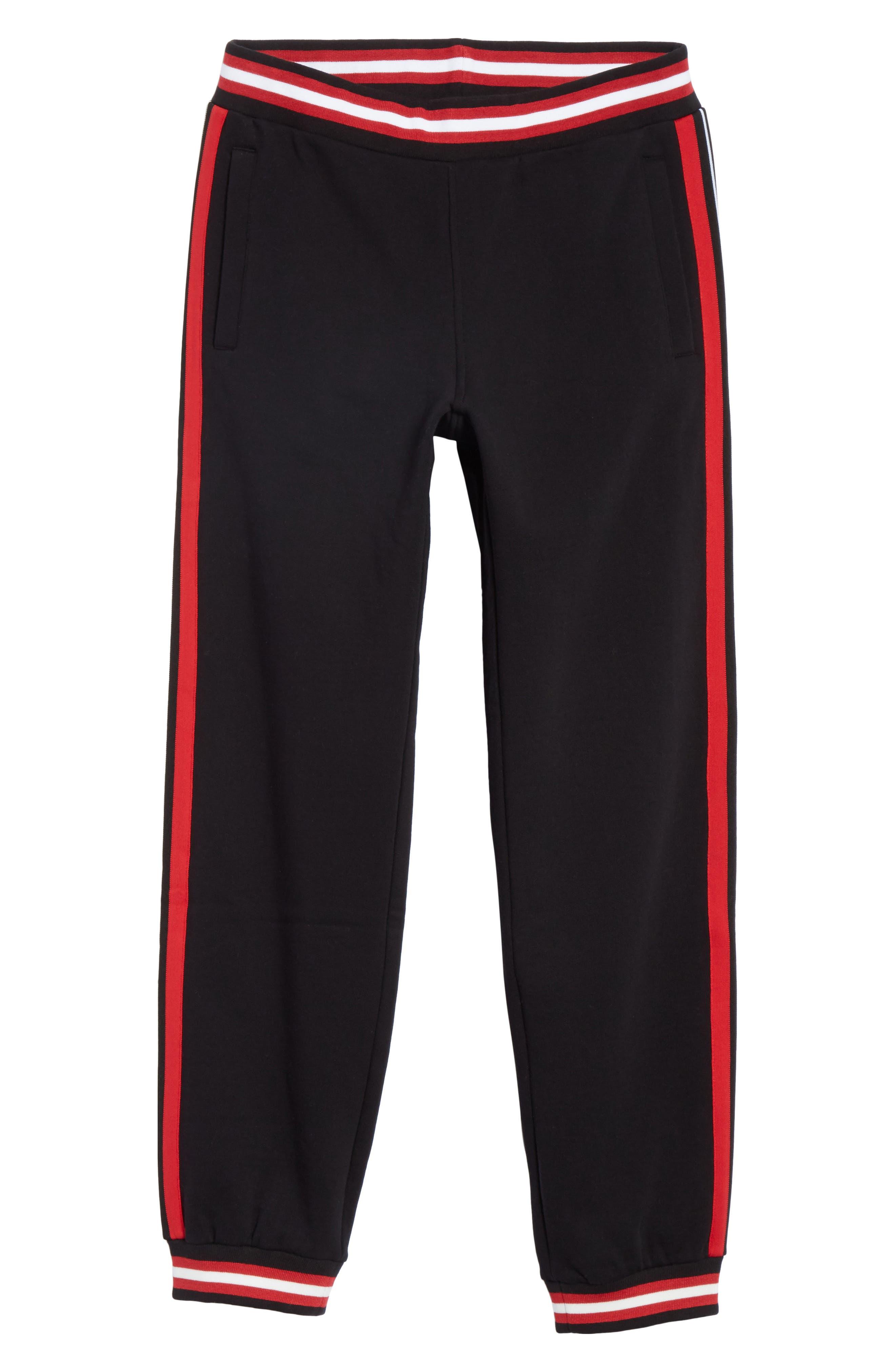 Stripe Track Pants,                             Alternate thumbnail 6, color,