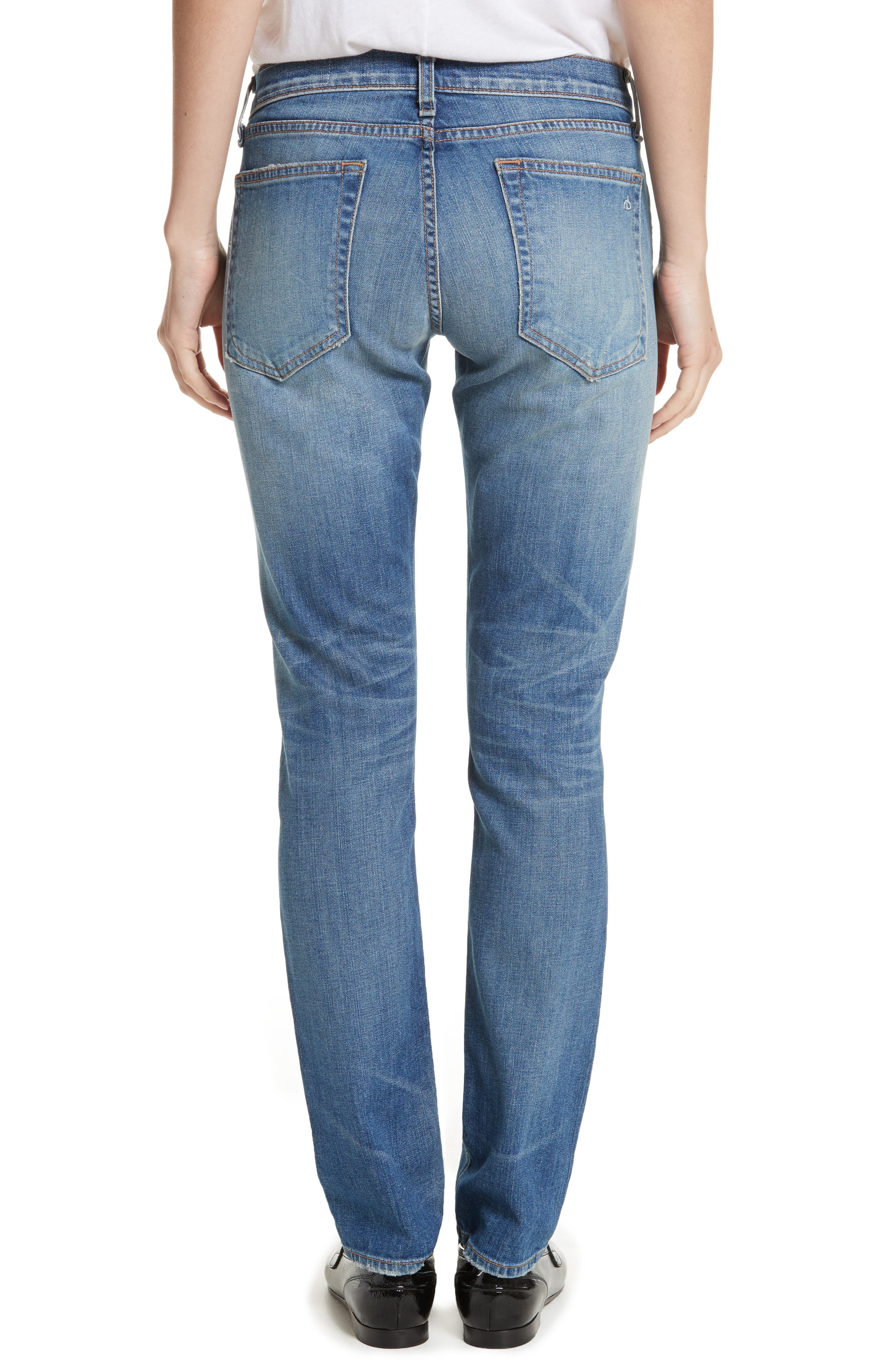Dre Slim Boyfriend Jeans,                             Alternate thumbnail 2, color,                             420