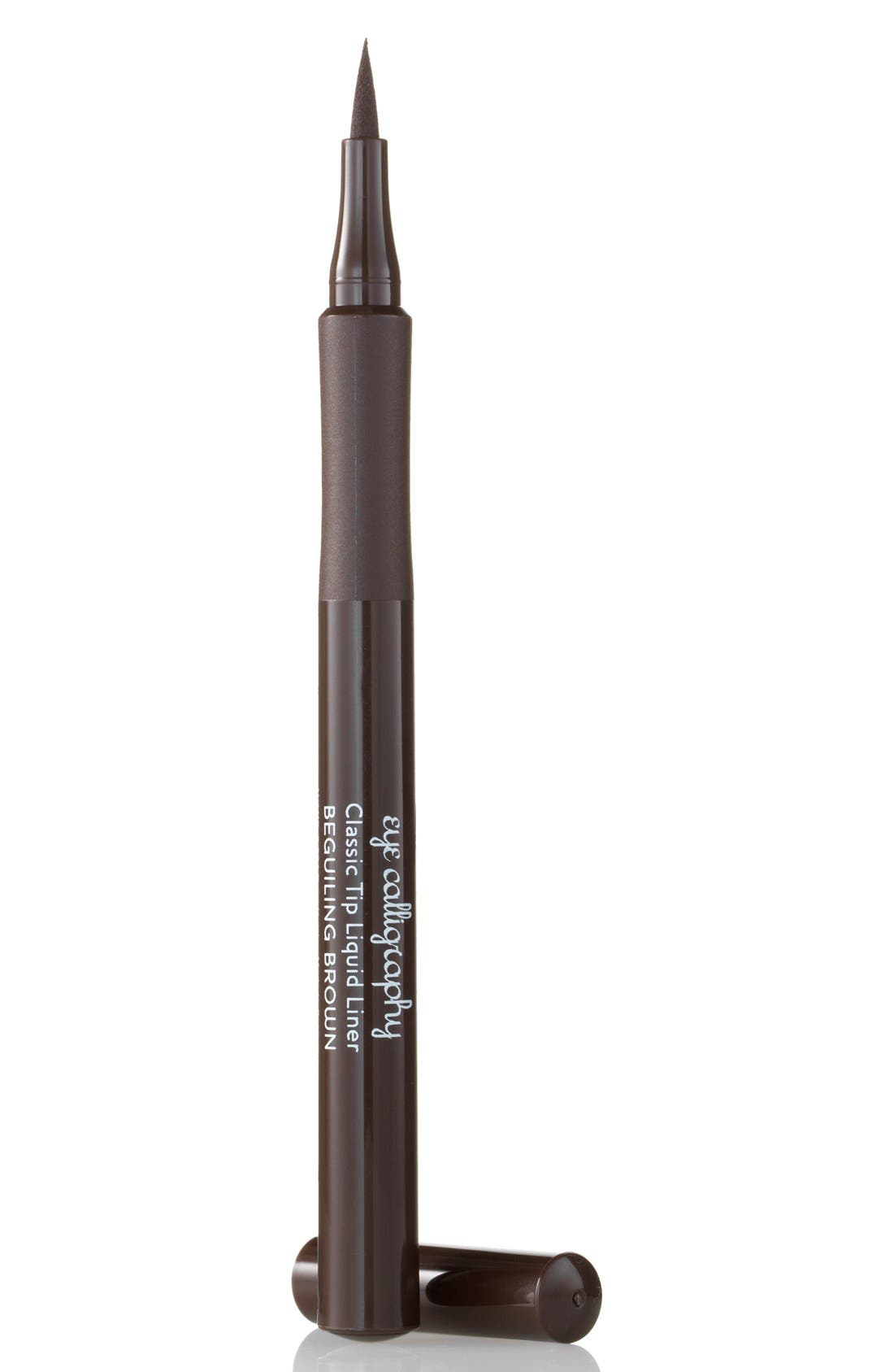Eye Calligraphy Eyeliner Marker,                         Main,                         color, BEGUILING BROWN