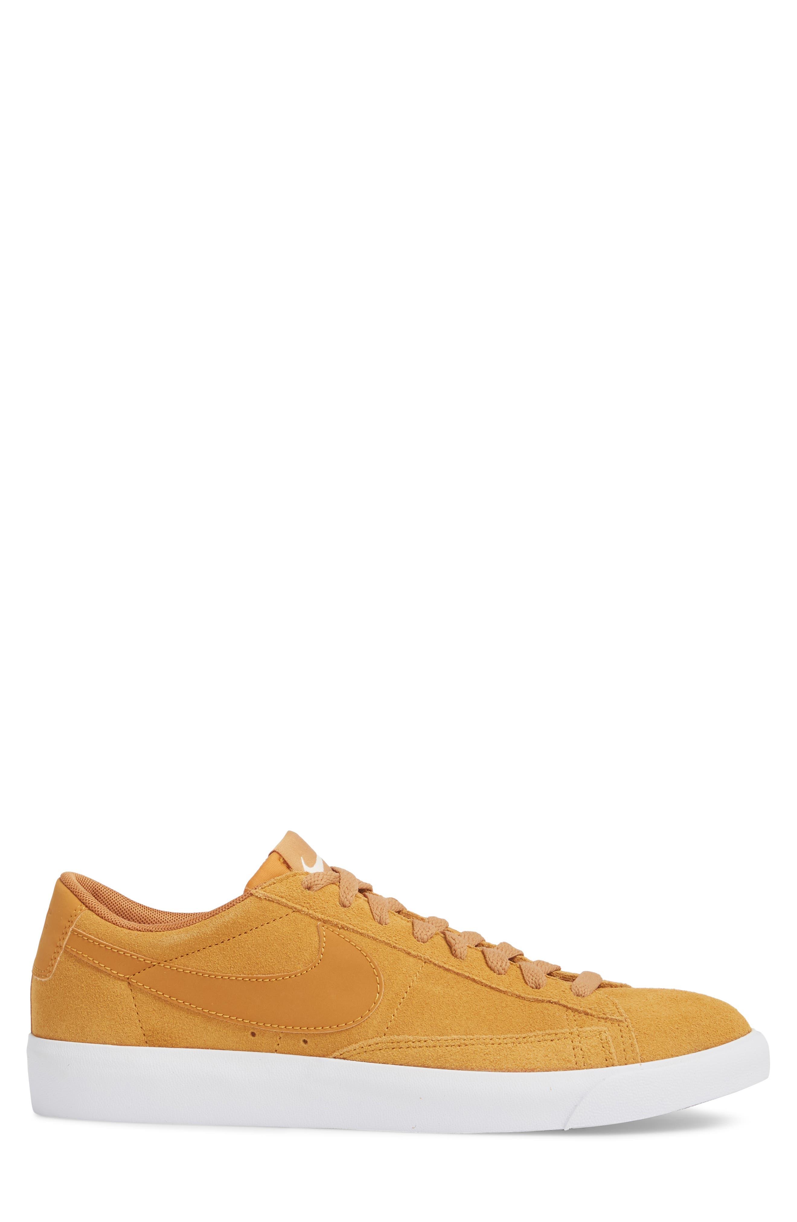 Blazer Low Suede Sneaker,                             Alternate thumbnail 3, color,                             260