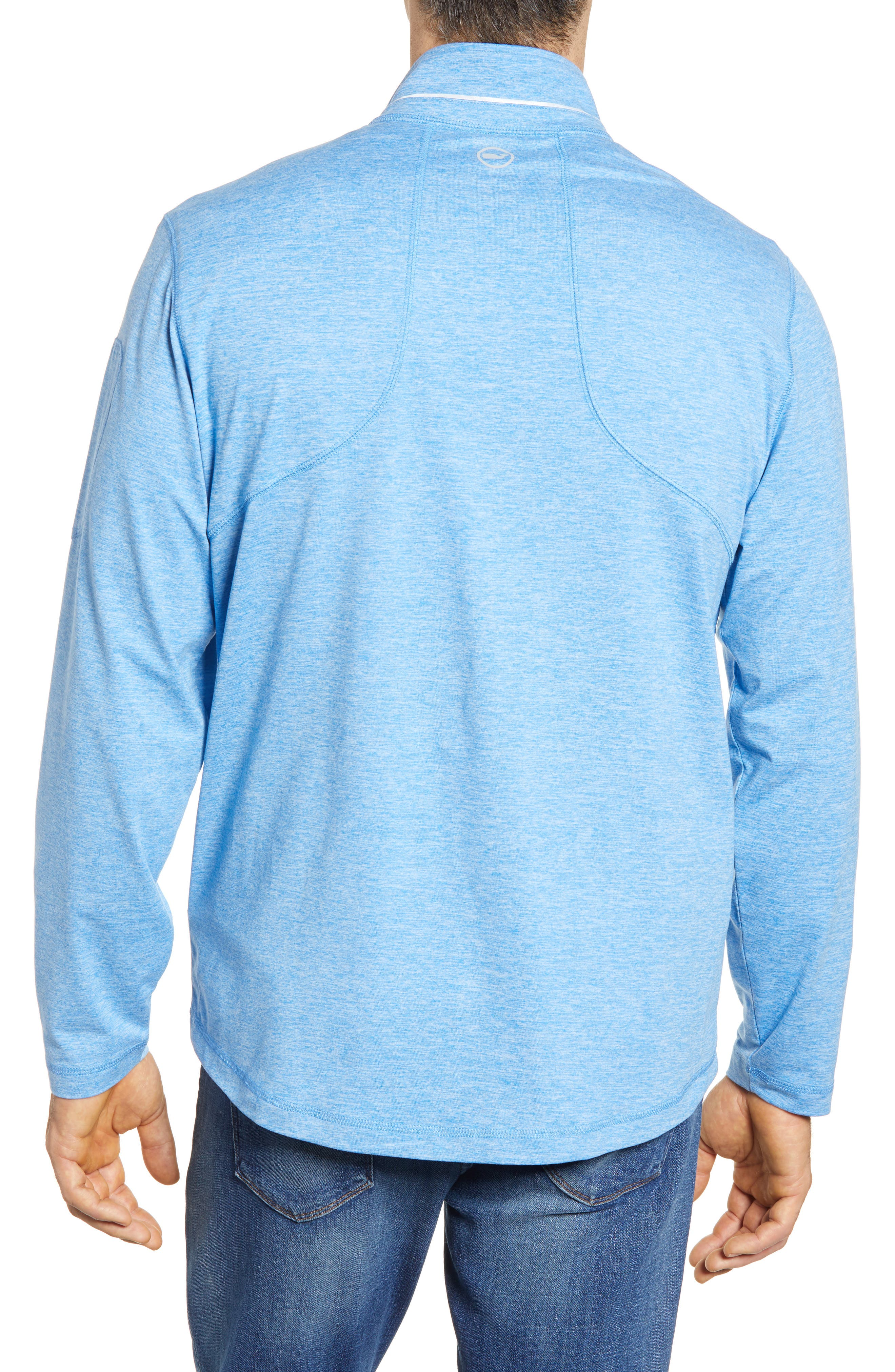 Performance Half Zip Pullover,                             Alternate thumbnail 5, color,