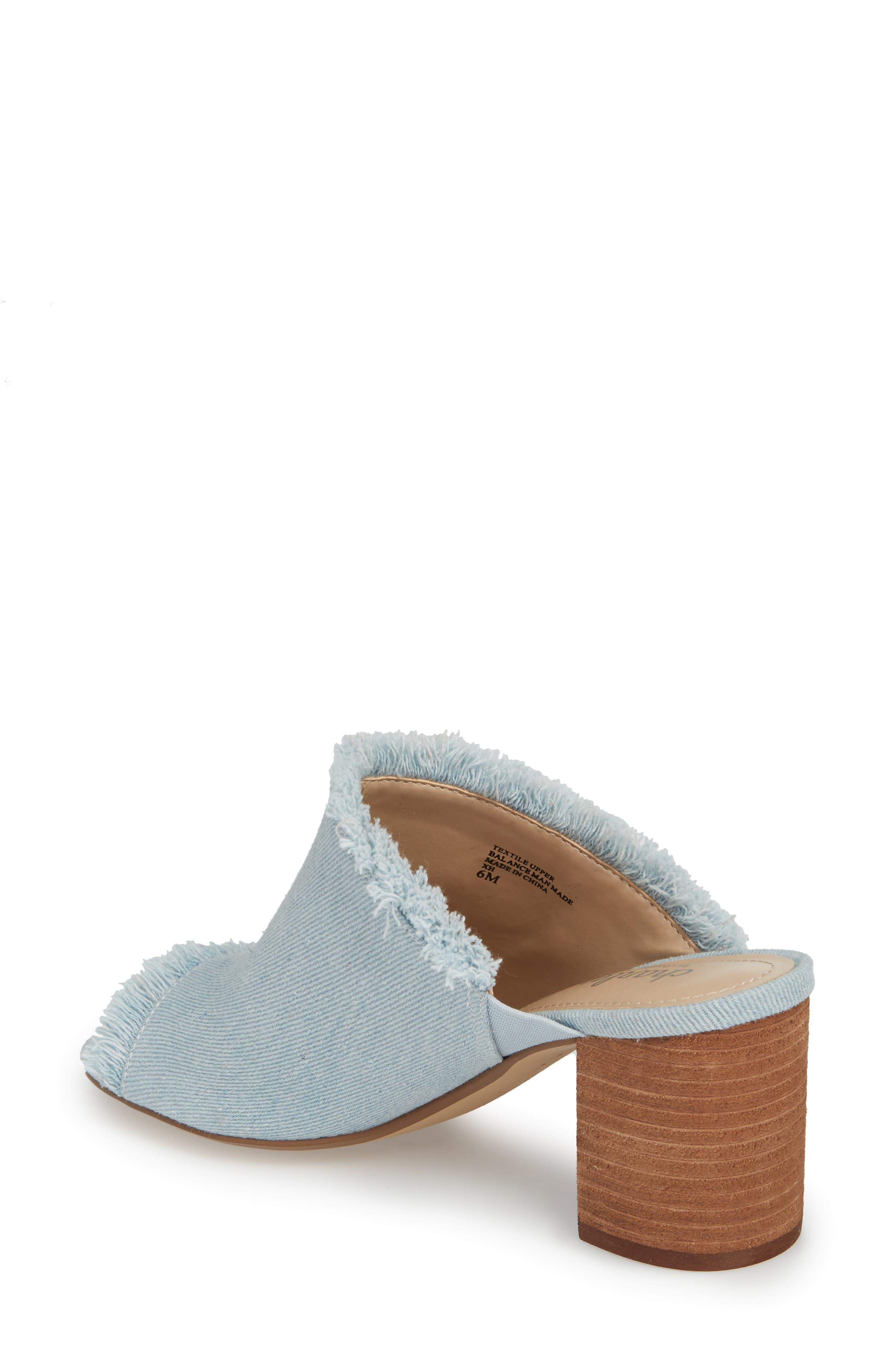 Kadia Fringed Mule Sandal,                             Alternate thumbnail 6, color,