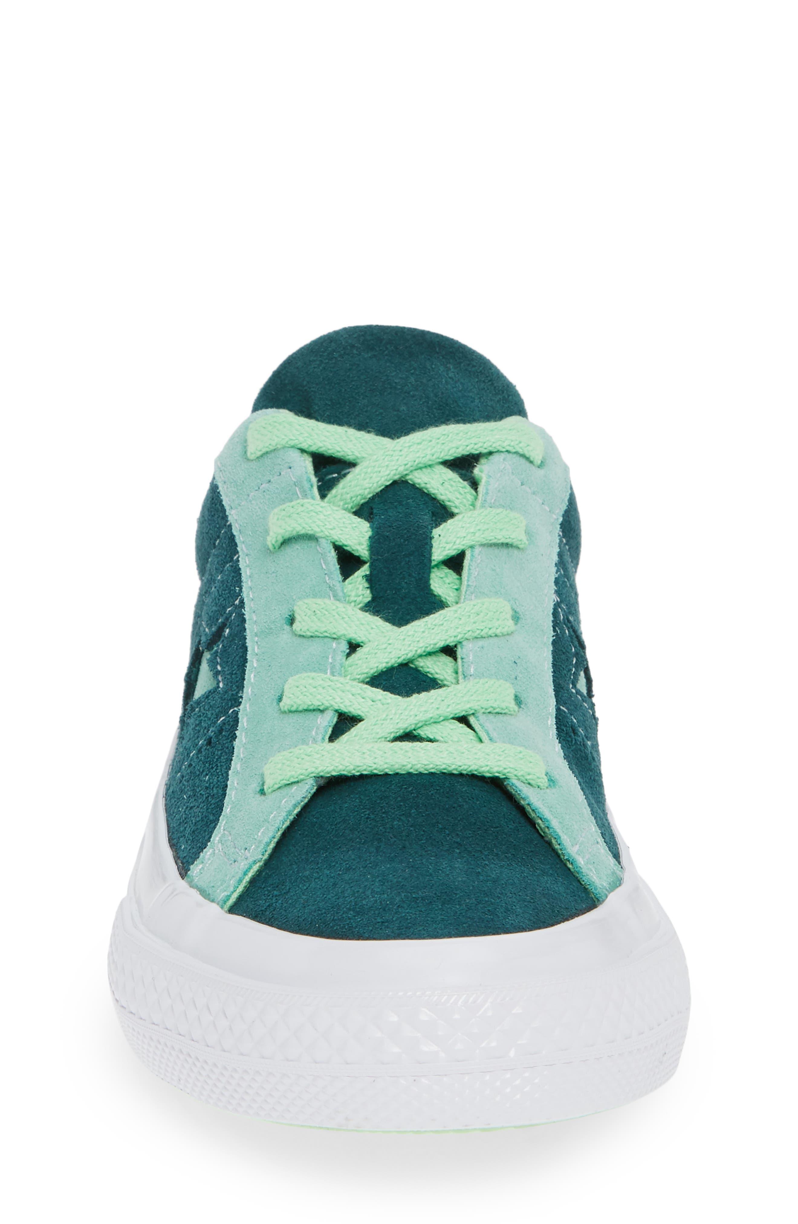 One Star Carnival Low Top Sneaker,                             Alternate thumbnail 4, color,                             345