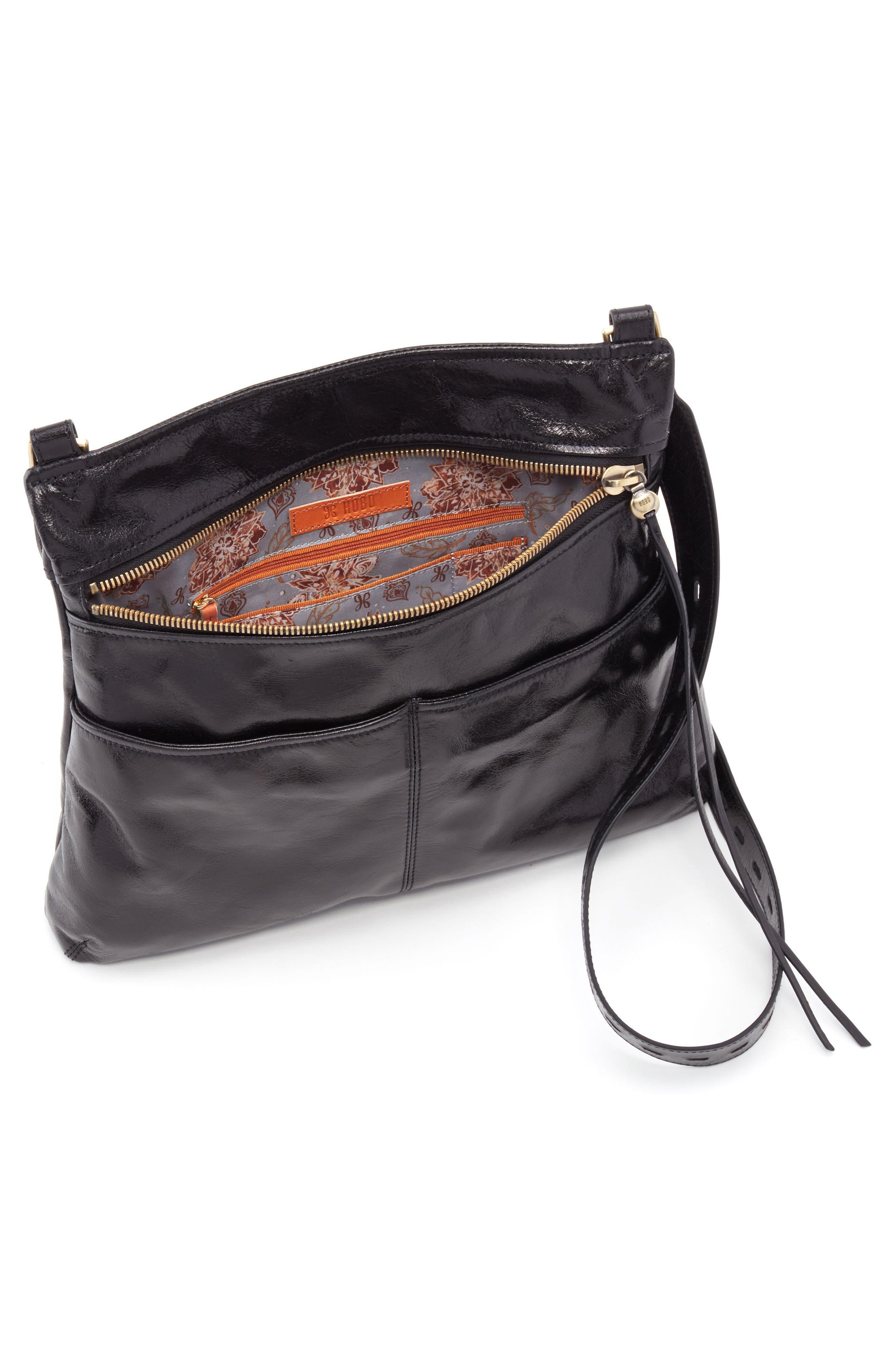 Angler Crossbody Bag,                             Alternate thumbnail 3, color,                             BLACK