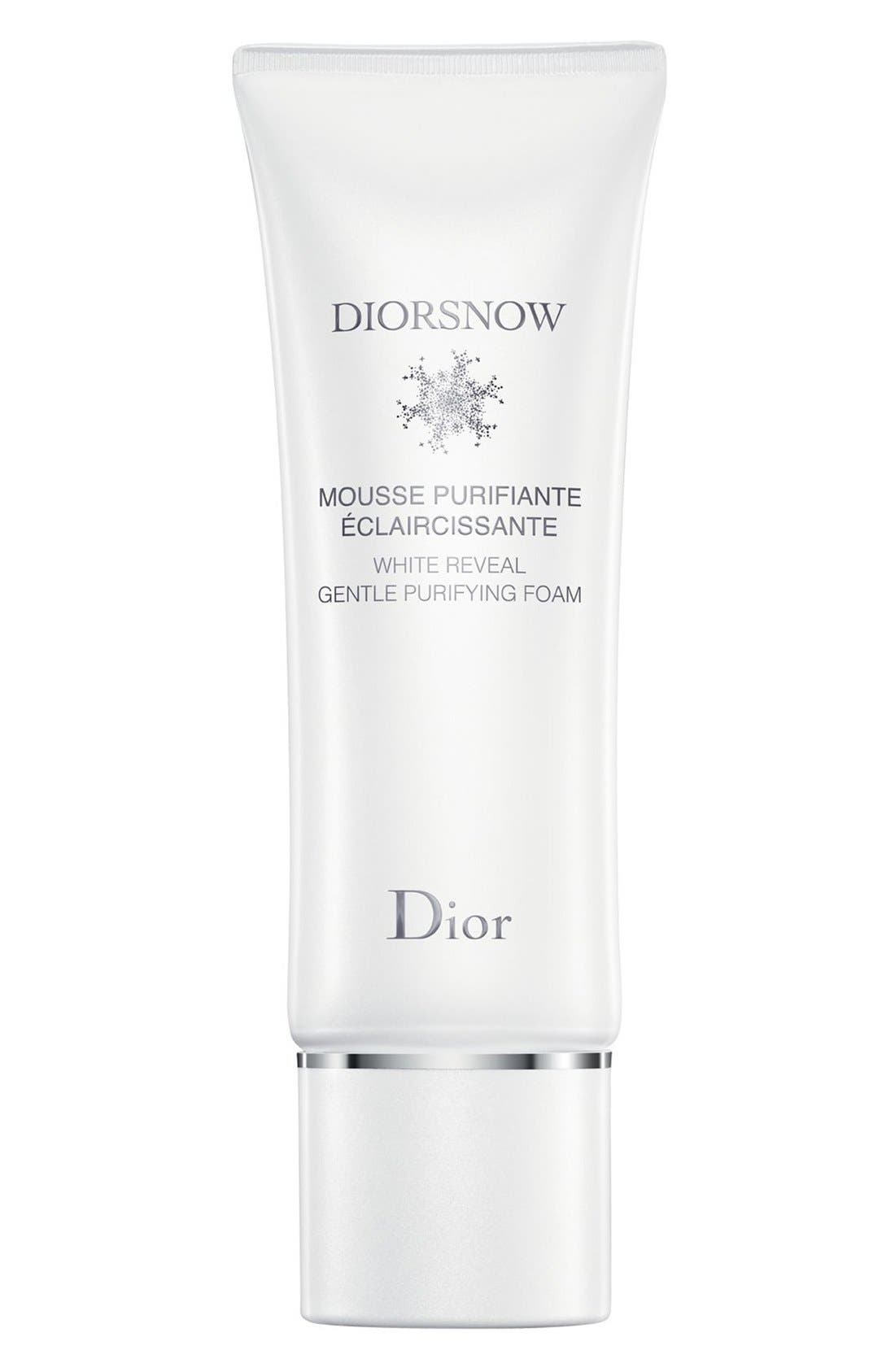 Diorsnow White Reveal Gentle Purifying Foam,                             Main thumbnail 1, color,                             NO COLOR