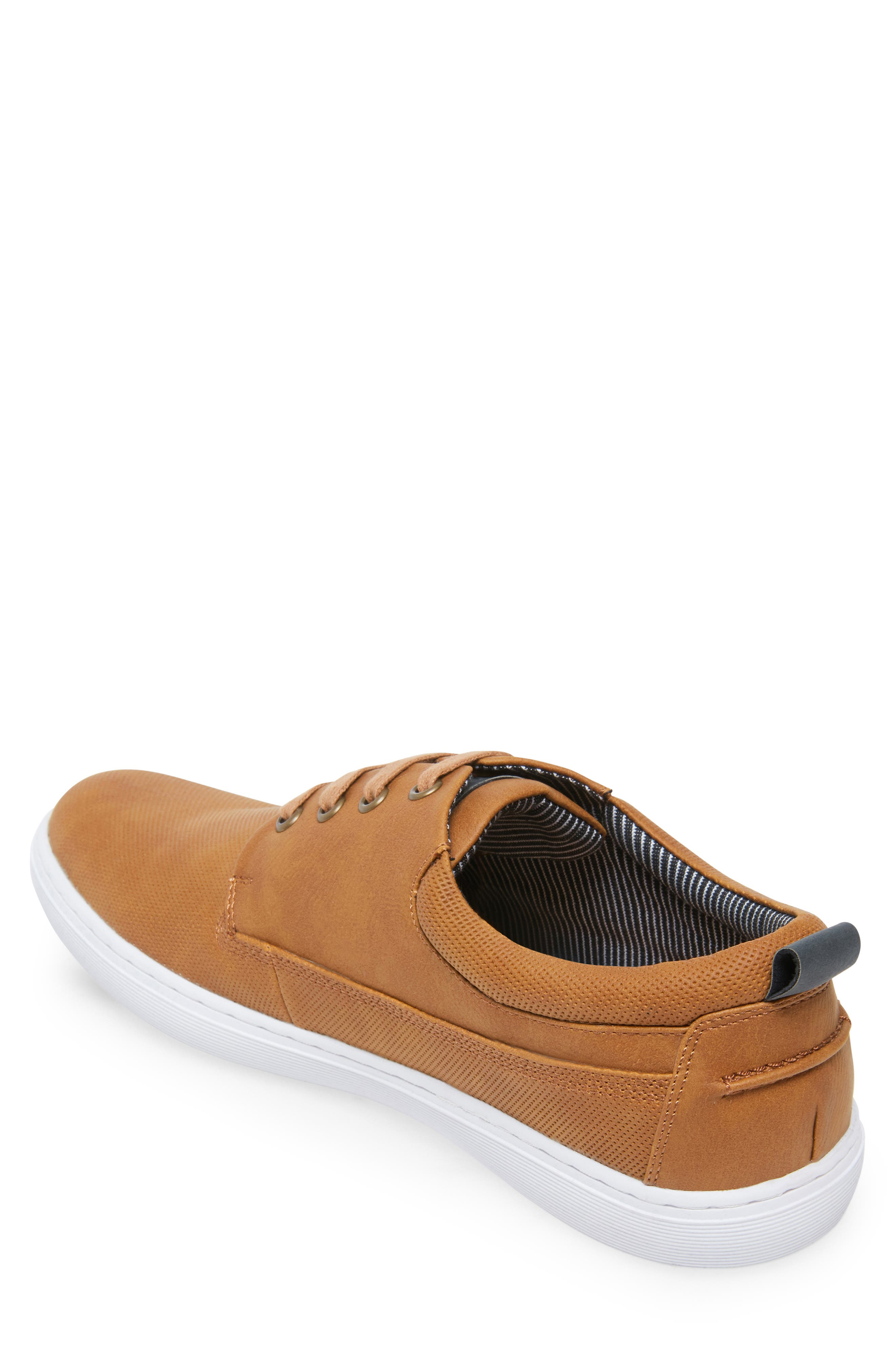 Halliday Sneaker,                             Alternate thumbnail 2, color,                             COGNAC