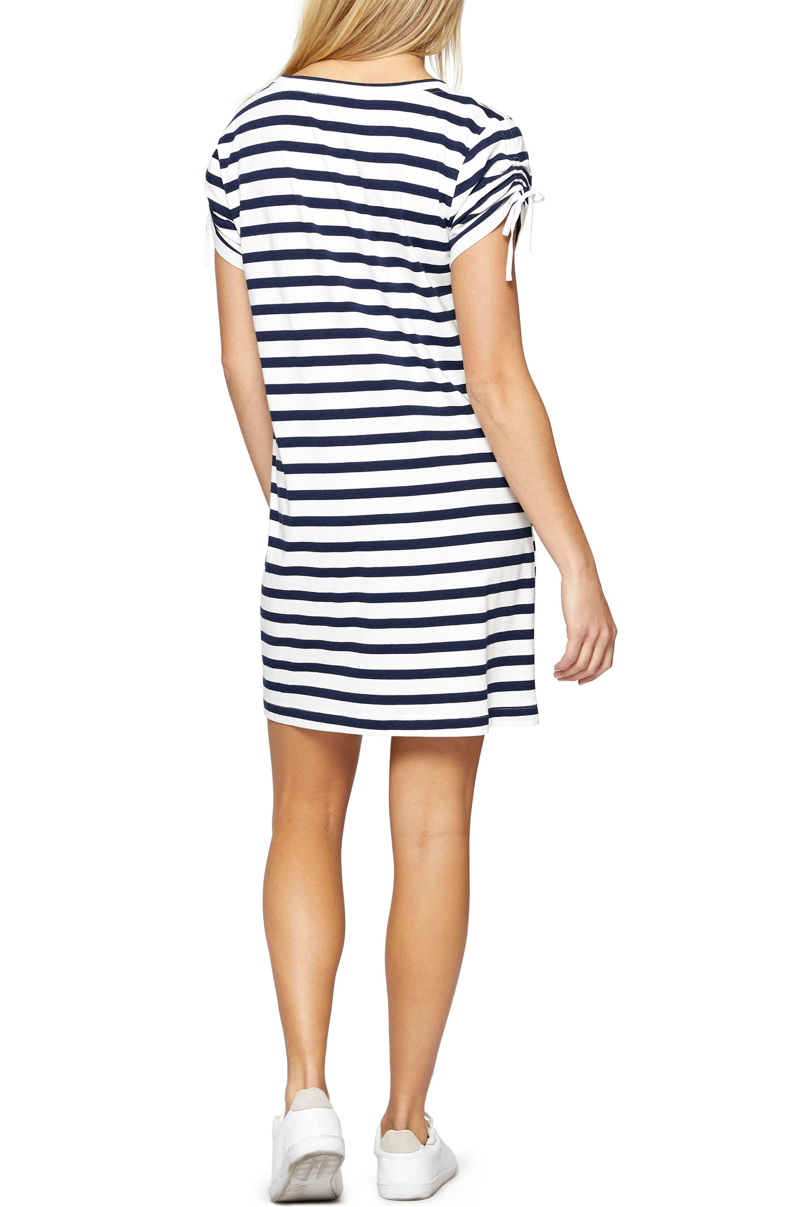 Ojai T-Shirt Dress,                             Alternate thumbnail 4, color,