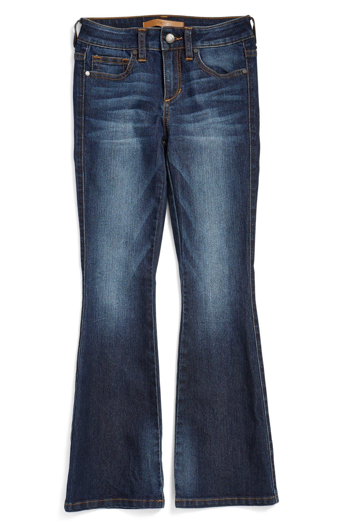 'Samantha' Flare Jeans,                             Alternate thumbnail 3, color,                             427