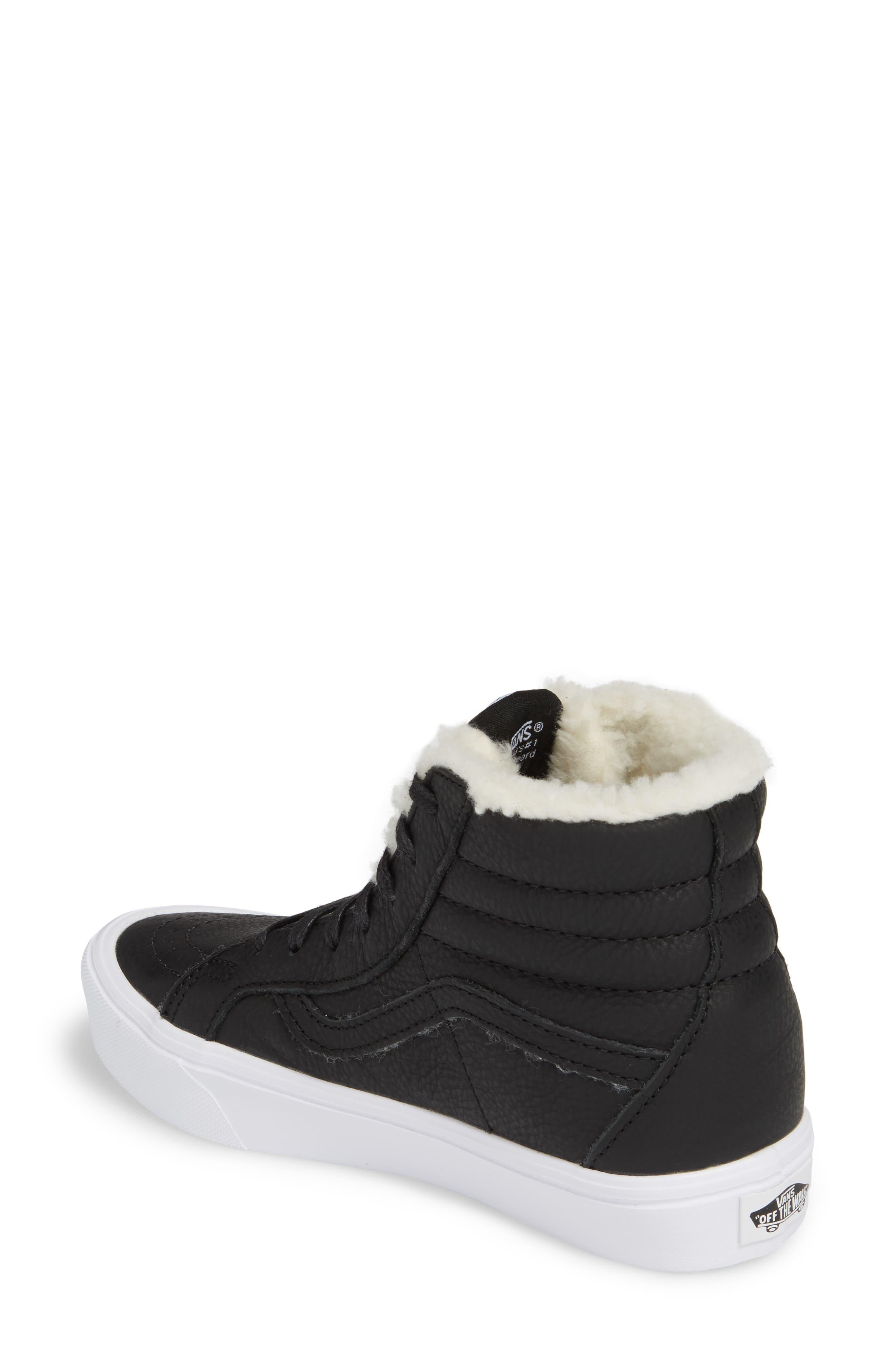 Sk8-Hi Reissue Lite High Top Sneaker,                             Alternate thumbnail 2, color,                             001