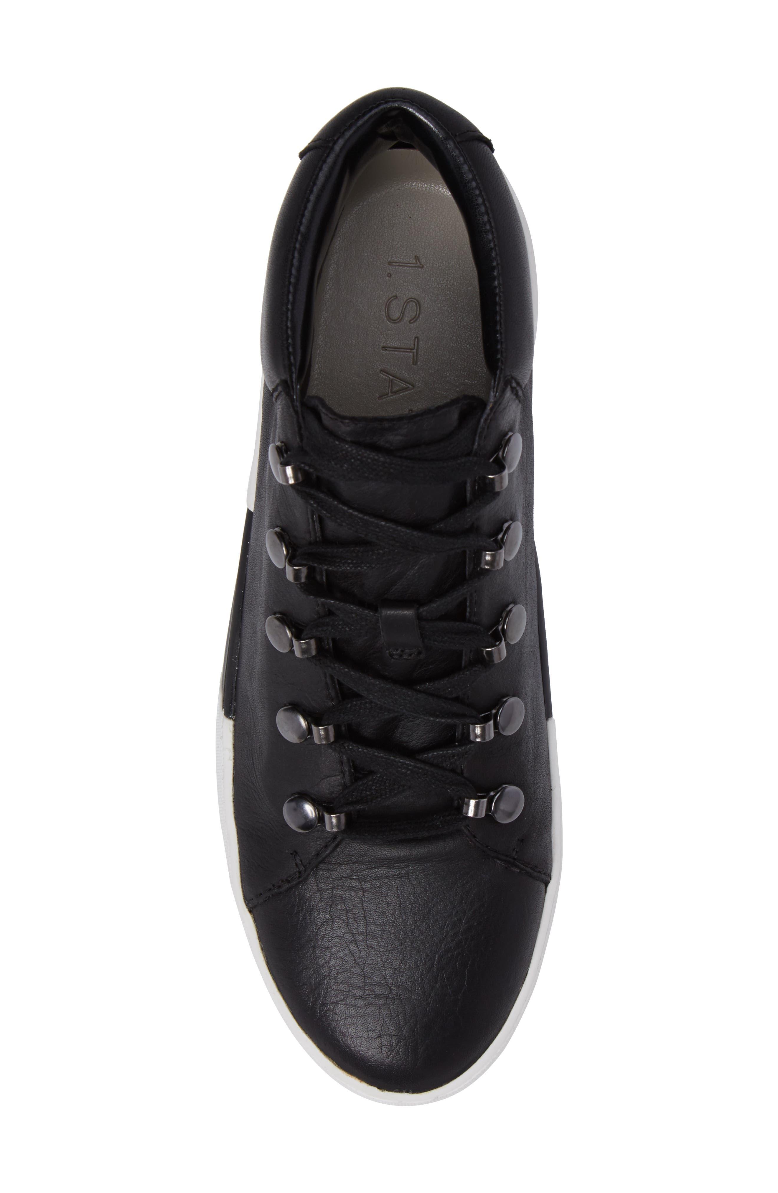 Wrine High Top Sneaker,                             Alternate thumbnail 5, color,                             001