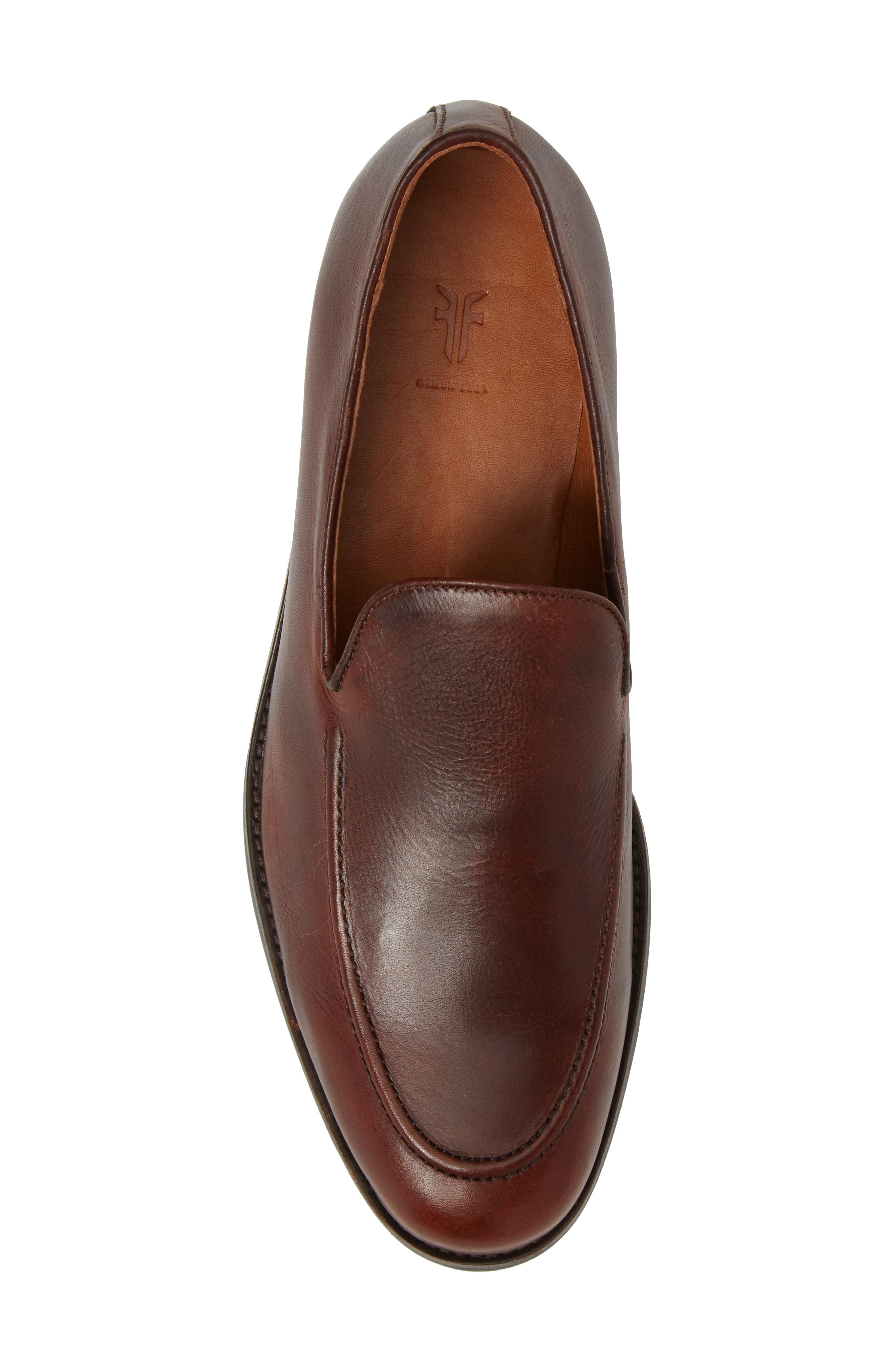 Jefferson Venetian Loafer,                             Alternate thumbnail 5, color,                             BROWN