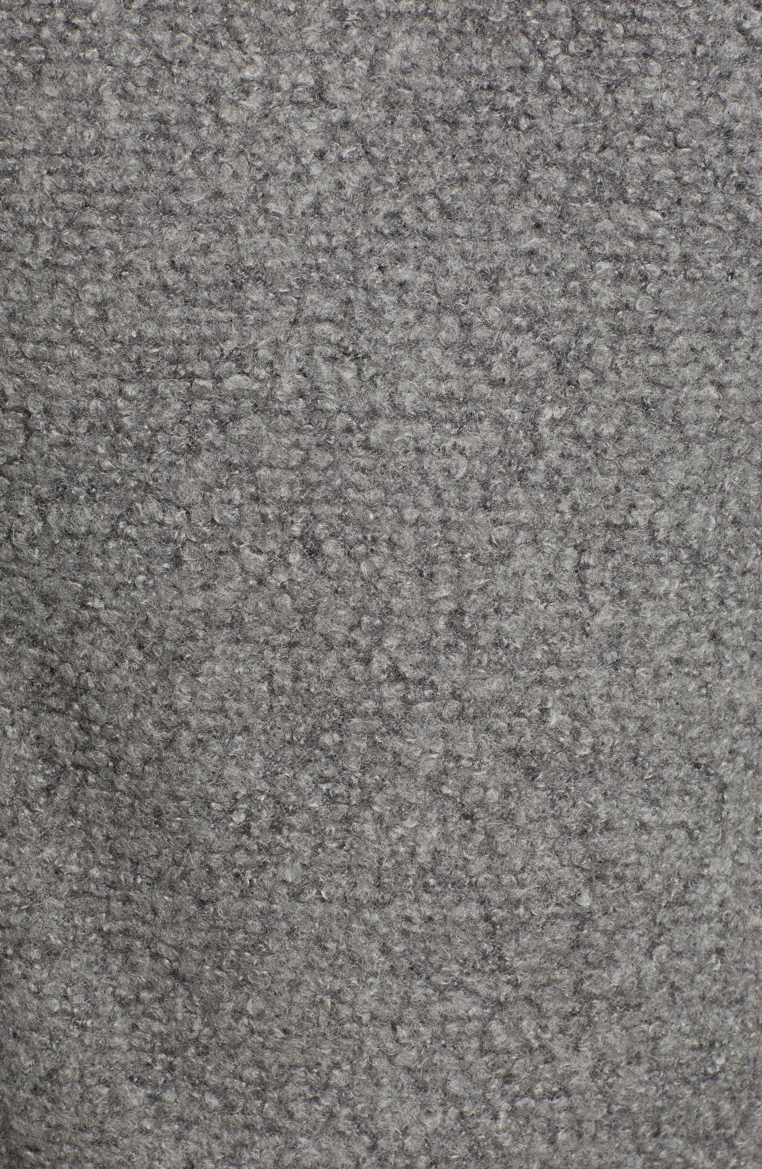 Knit Moto Jacket,                             Alternate thumbnail 7, color,                             DARK HEATHER GREY