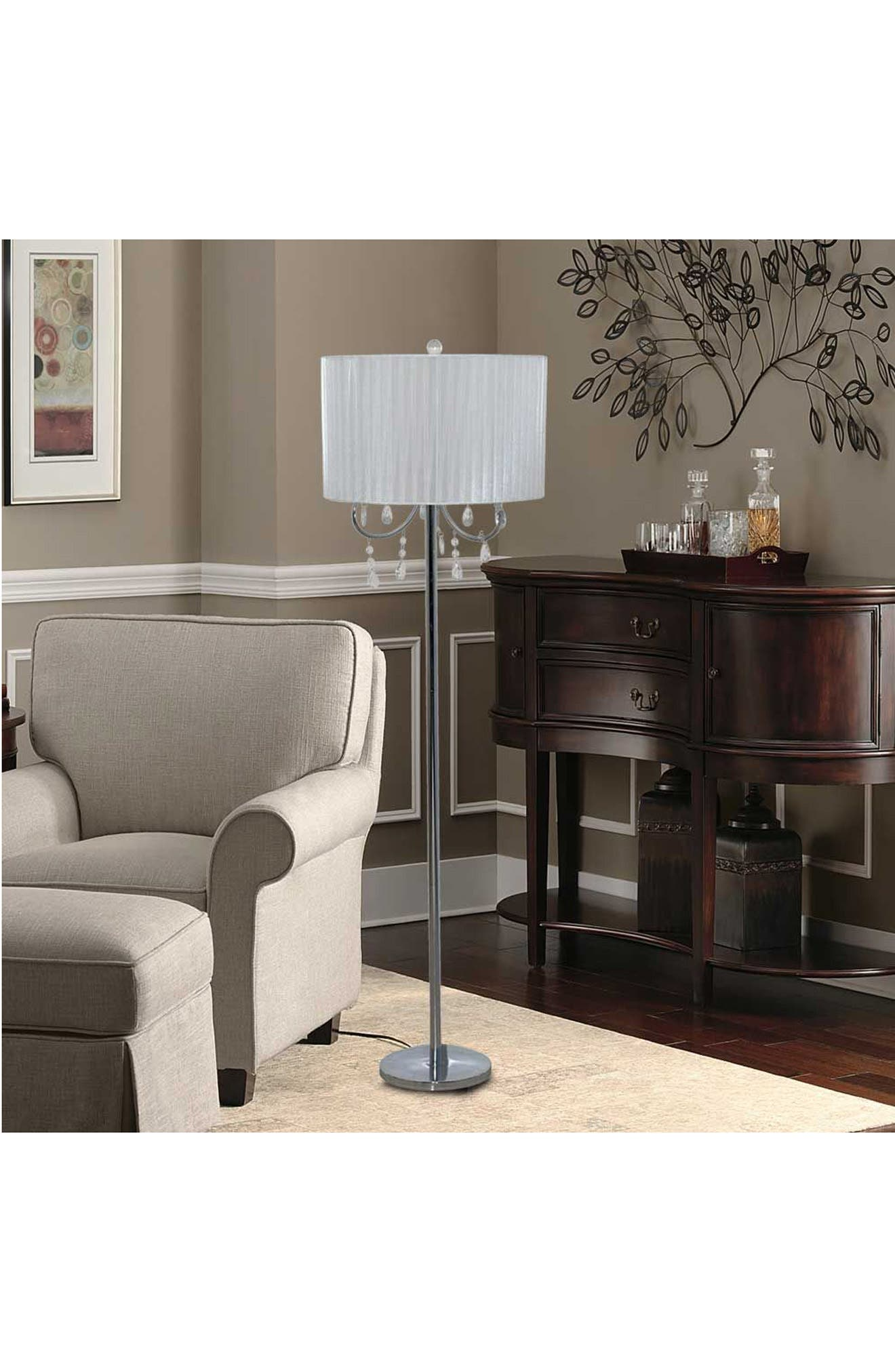 JAlexander Chandelier Floor Lamp,                             Alternate thumbnail 2, color,                             100